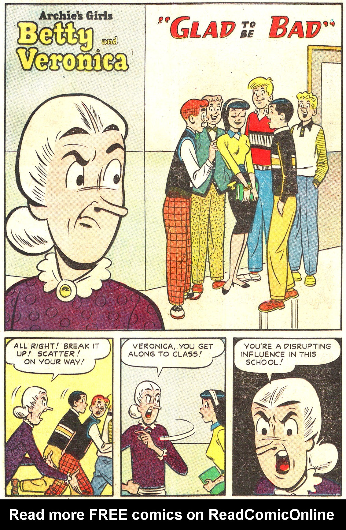 Read online Archie's Girls Betty and Veronica comic -  Issue #54 - 28