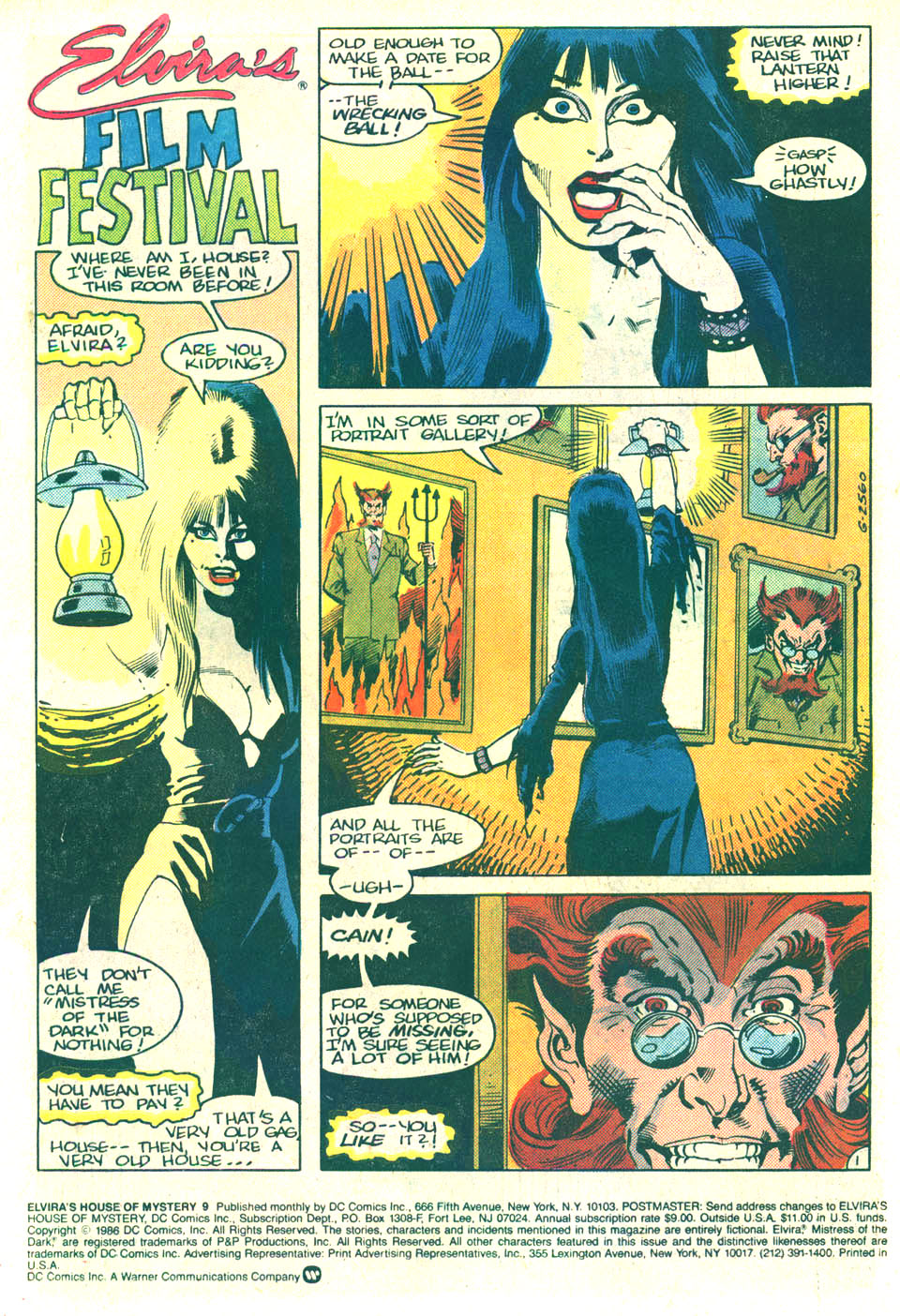 Elvira's House of Mystery Issue #9 #10 - English 2