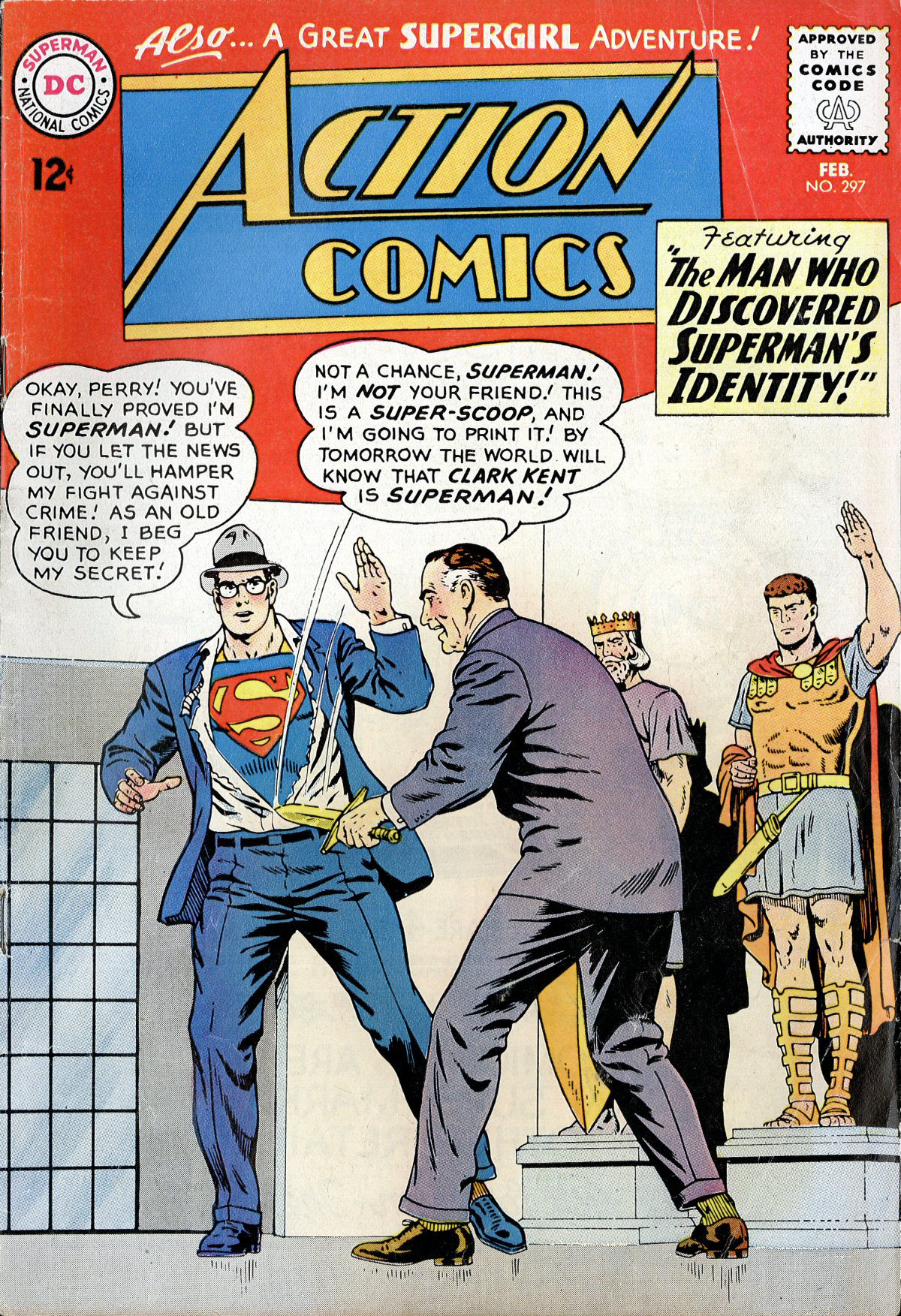 Read online Action Comics (1938) comic -  Issue #297 - 1