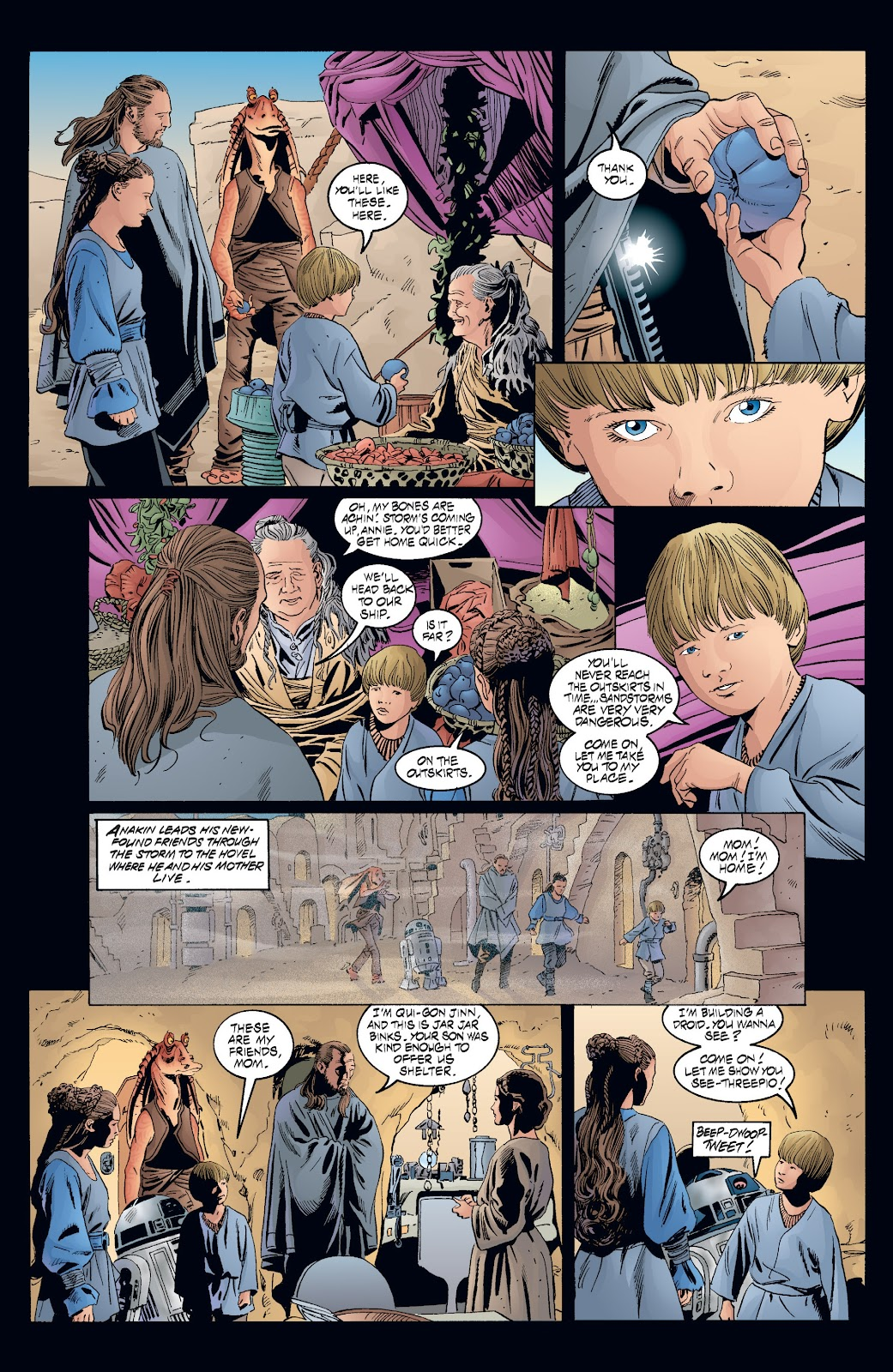 Read online Star Wars Legends: Rise of the Sith - Epic Collection comic -  Issue # TPB 2 (Part 3) - 72
