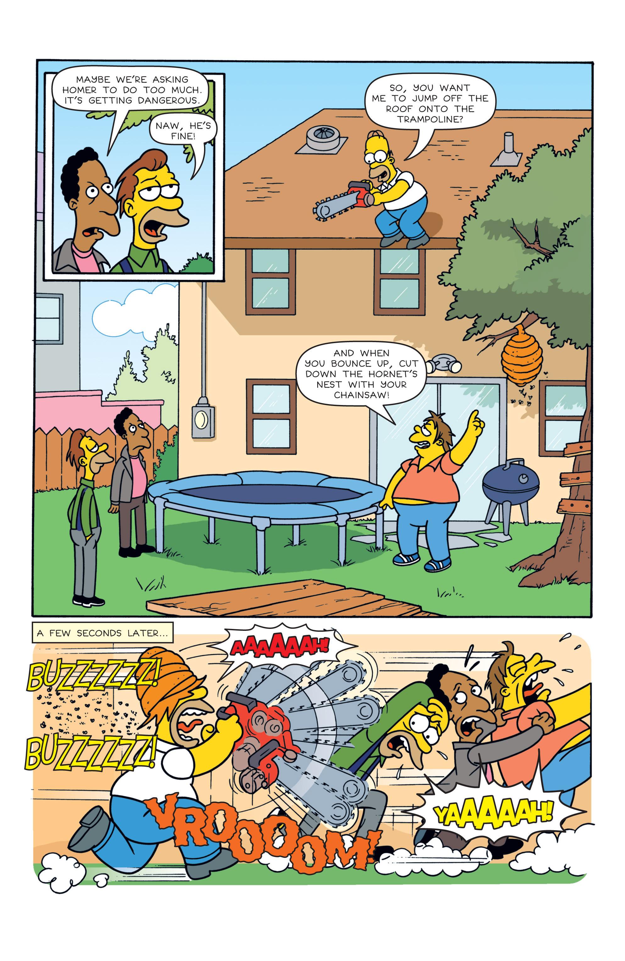Read online Simpsons Comics comic -  Issue #187 - 19
