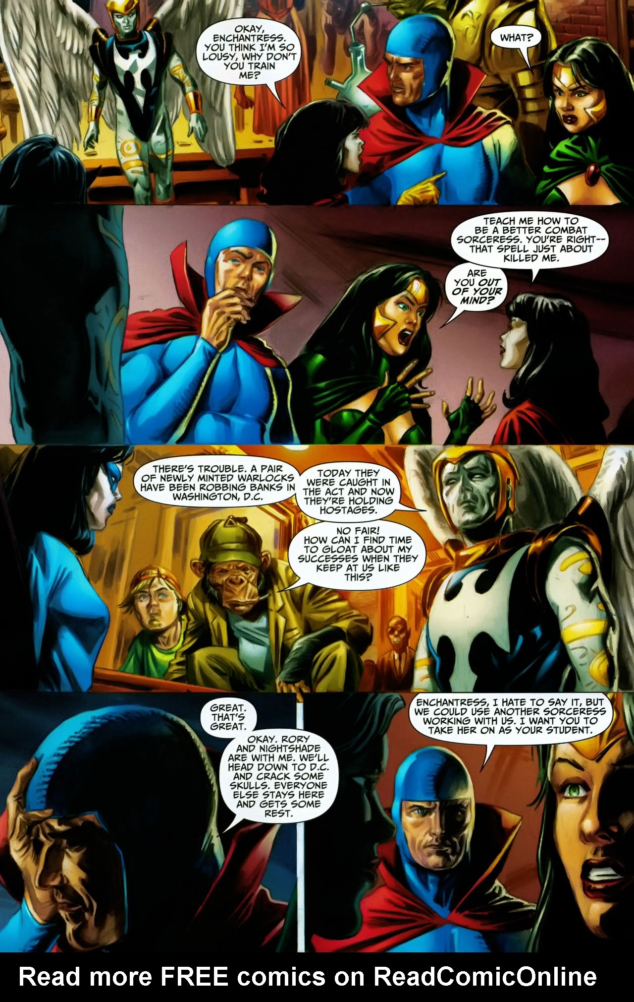 Read online Shadowpact comic -  Issue #17 - 11