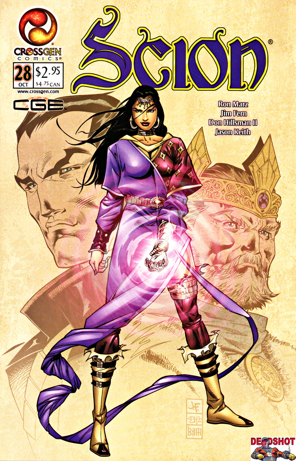 Read online Scion comic -  Issue #28 - 1