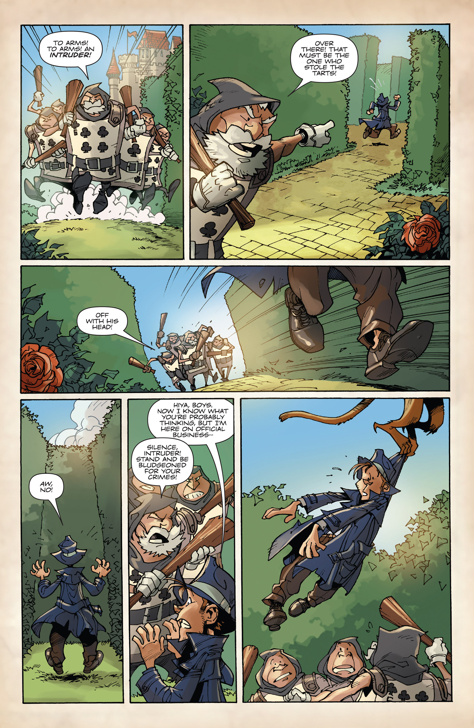 Read online Fiction Squad comic -  Issue #2 - 12