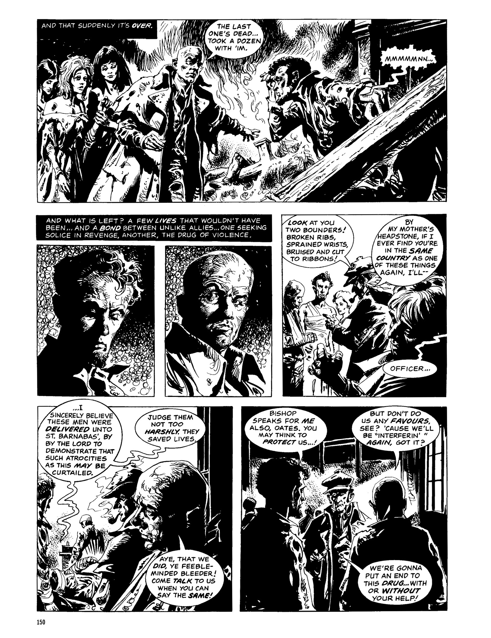 Read online Eerie Archives comic -  Issue # TPB 13 - 151