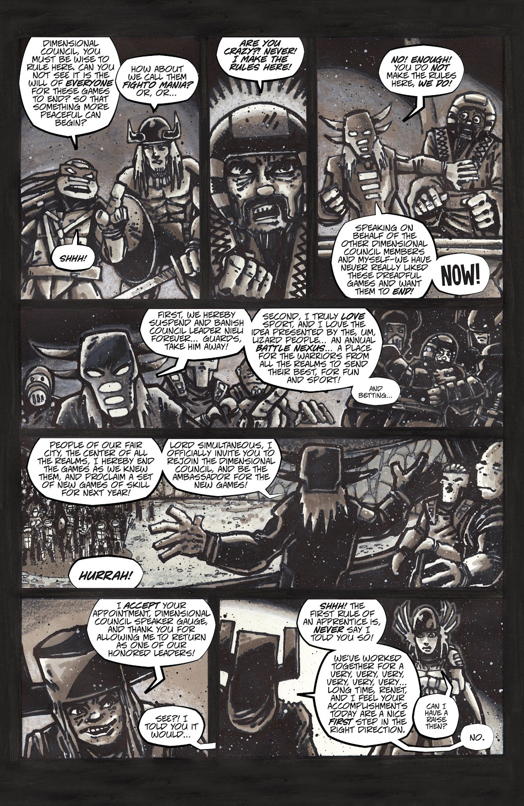Read online Teenage Mutant Ninja Turtles: The IDW Collection comic -  Issue # TPB 4 (Part 3) - 5
