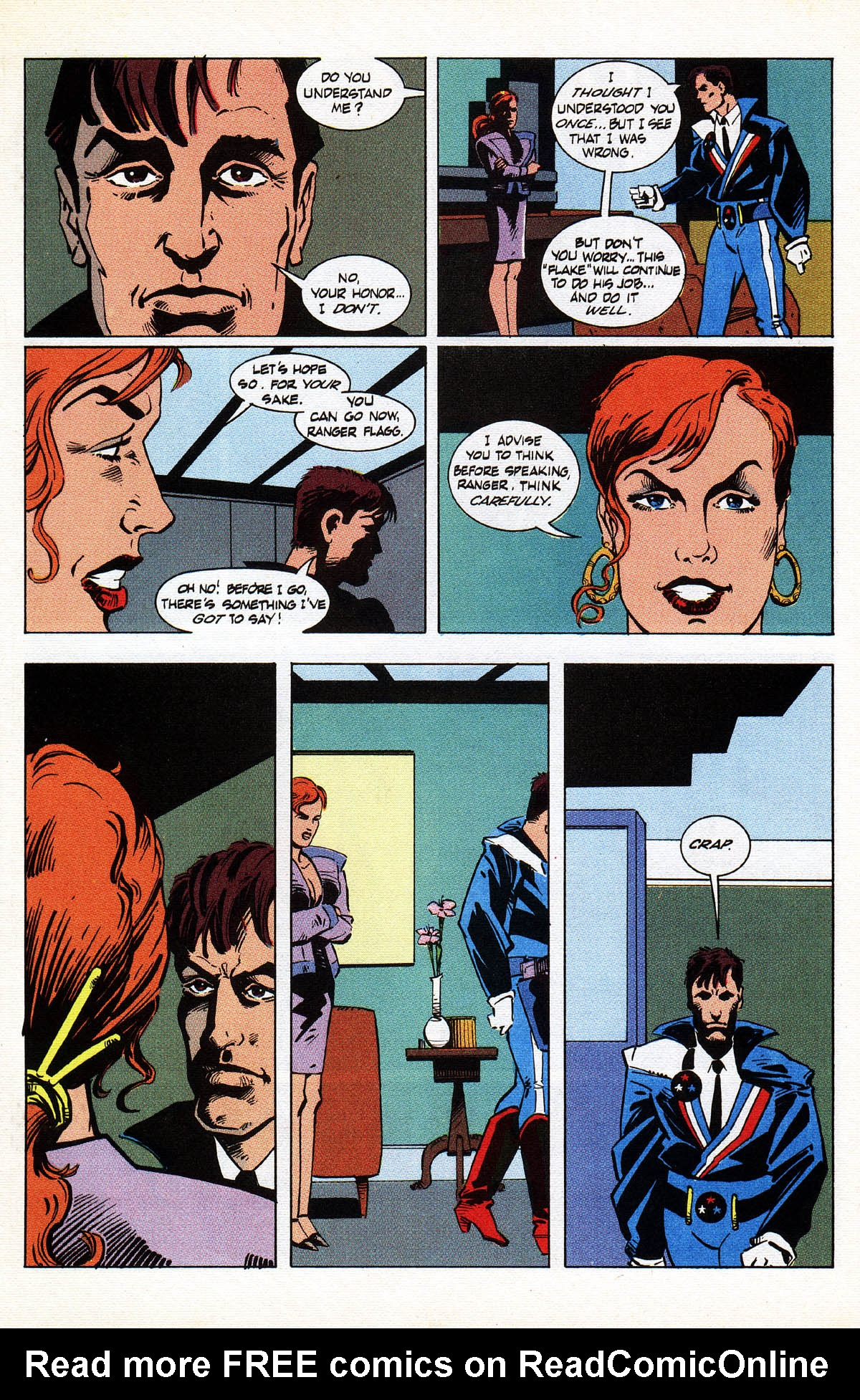 Read online American Flagg! comic -  Issue #38 - 7