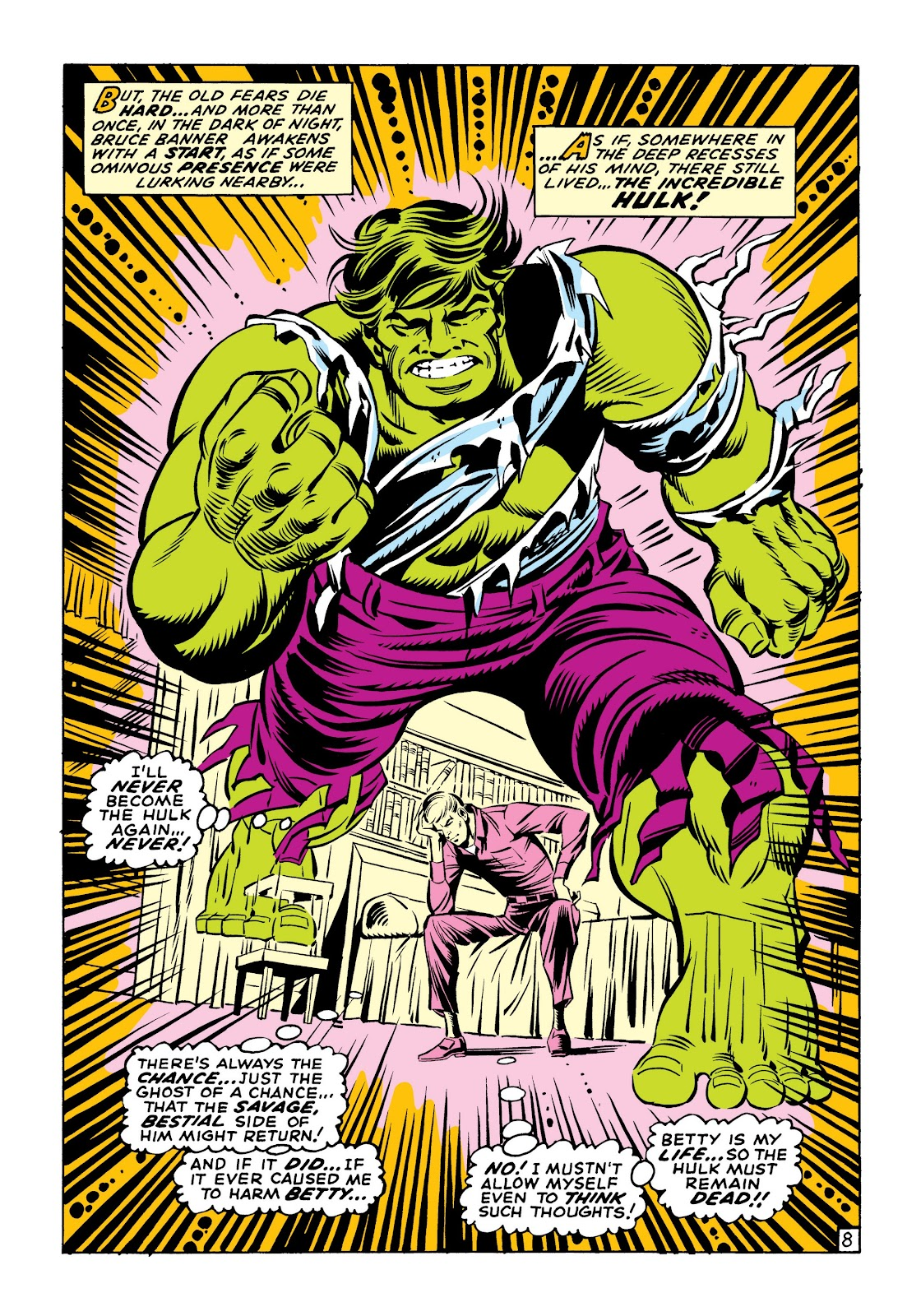 Read online Marvel Masterworks: The Incredible Hulk comic -  Issue # TPB 6 (Part 1) - 38