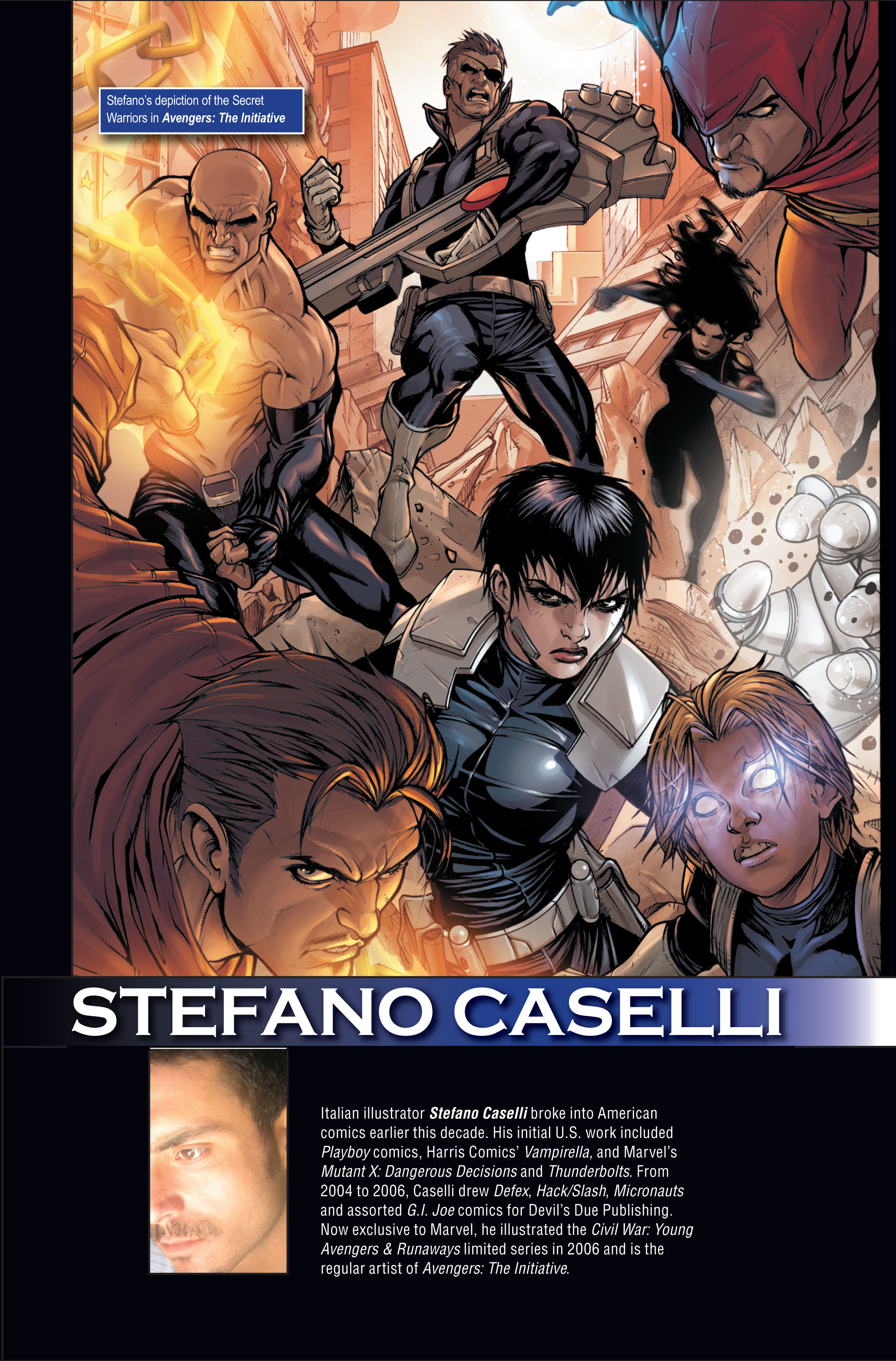 Read online Secret Warriors comic -  Issue #1 - 36