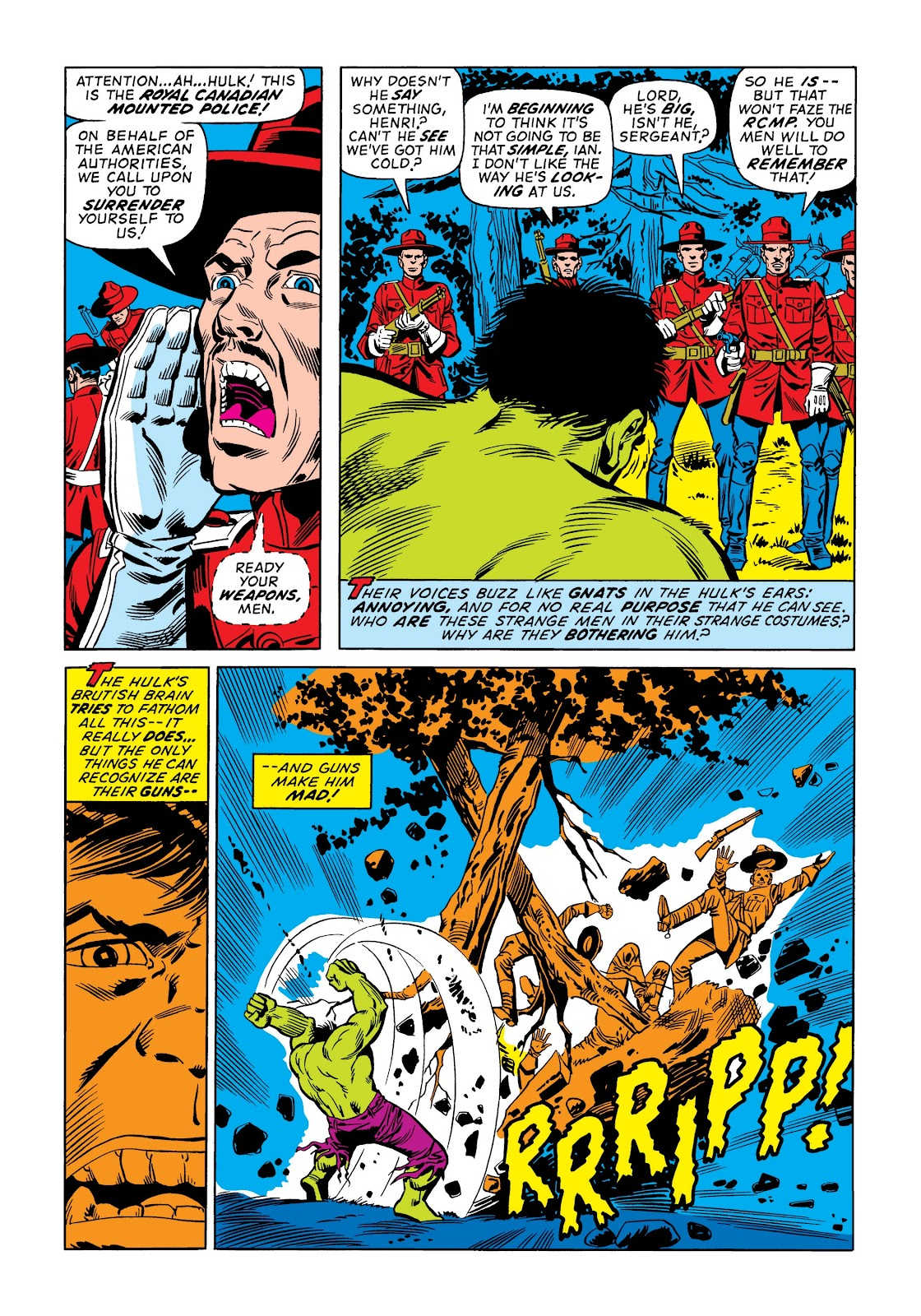 Read online Marvel Masterworks: The Incredible Hulk comic -  Issue # TPB 9 (Part 1) - 96