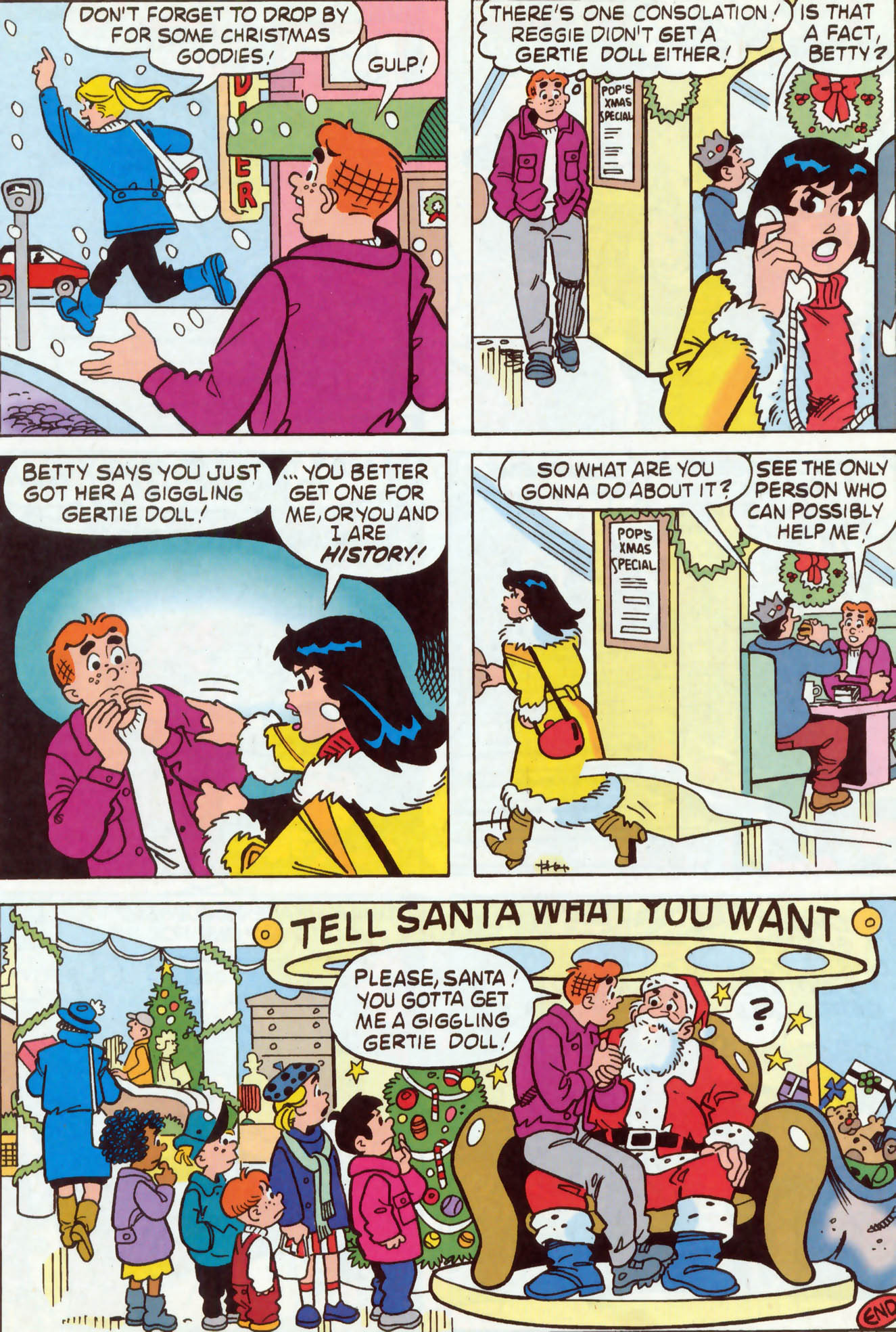 Read online Archie (1960) comic -  Issue #467 - 19