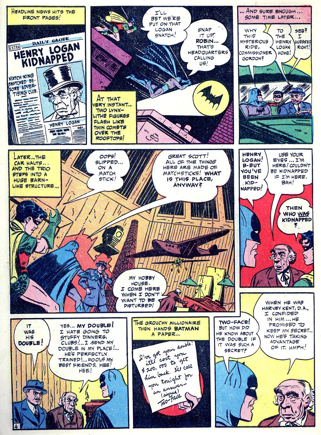 Read online Detective Comics (1937) comic -  Issue #68 - 6