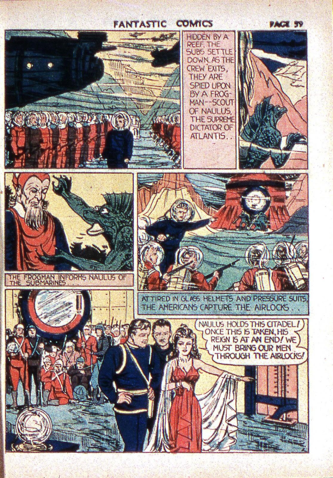 Read online Fantastic Comics comic -  Issue #2 - 60