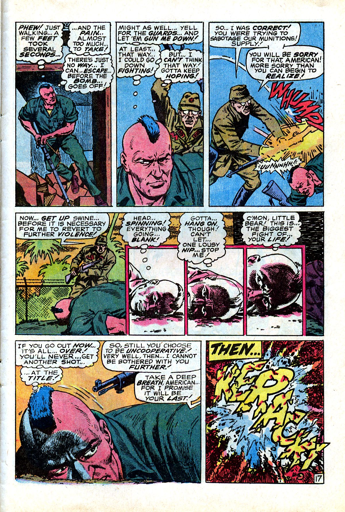 Captain Savage and his Leatherneck Raiders issue 17 - Page 29