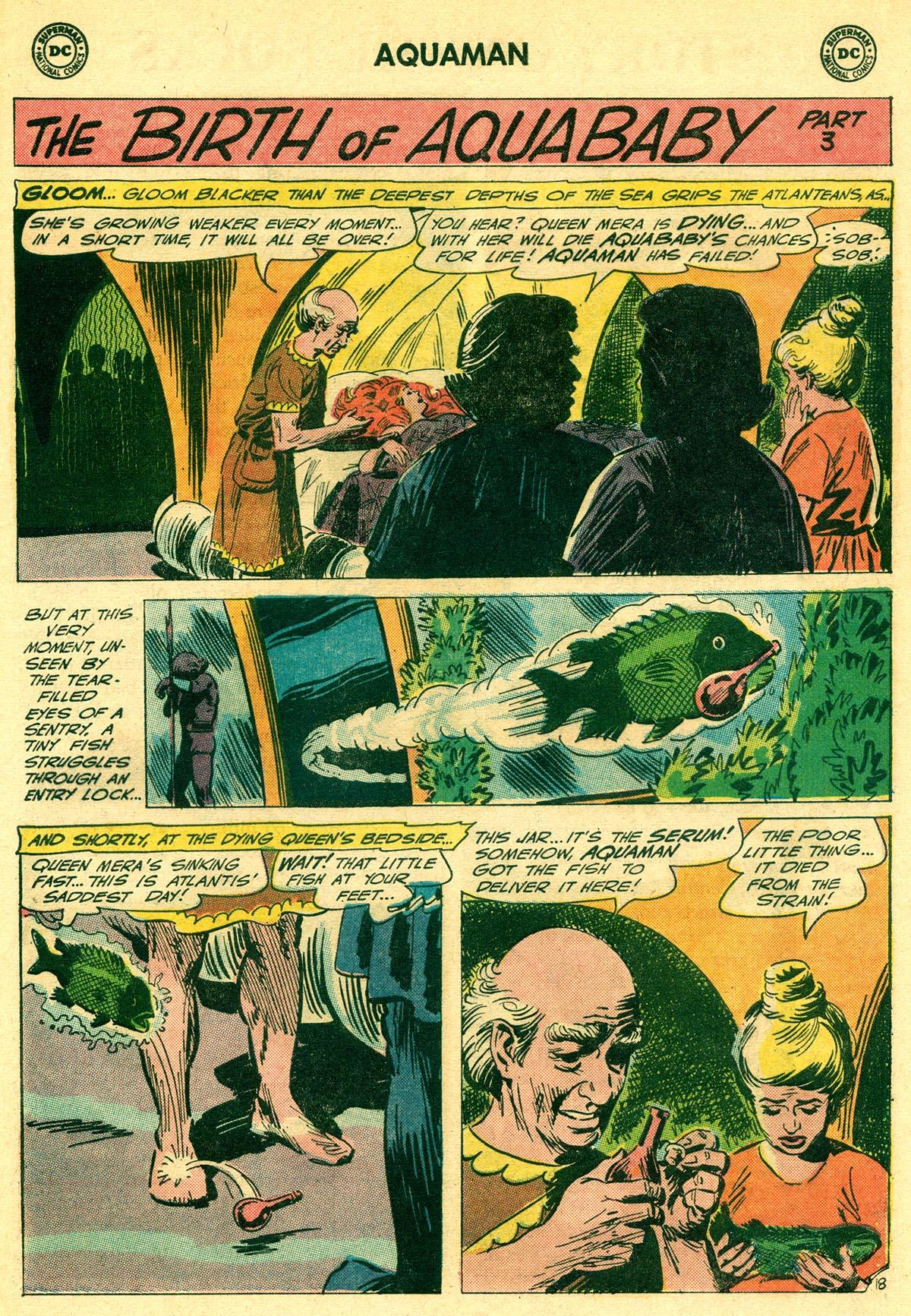 Read online Aquaman (1962) comic -  Issue #23 - 25