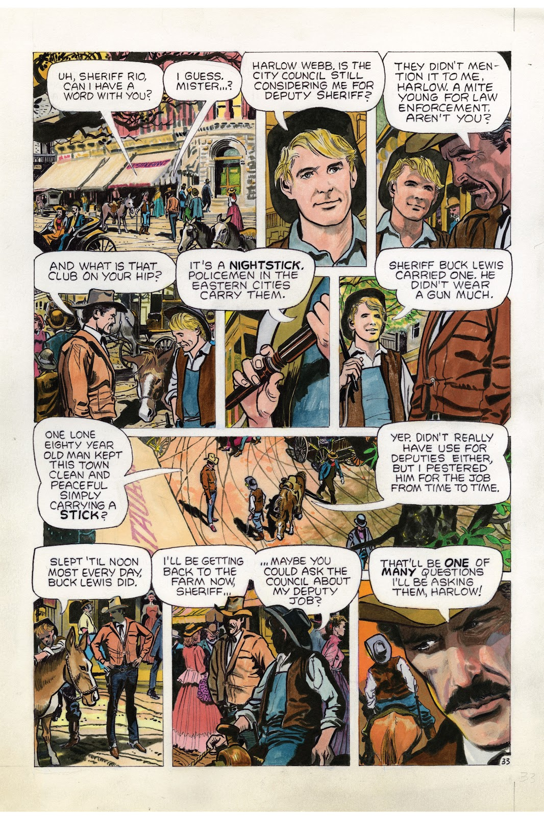 Read online Doug Wildey's Rio: The Complete Saga comic -  Issue # TPB (Part 1) - 99