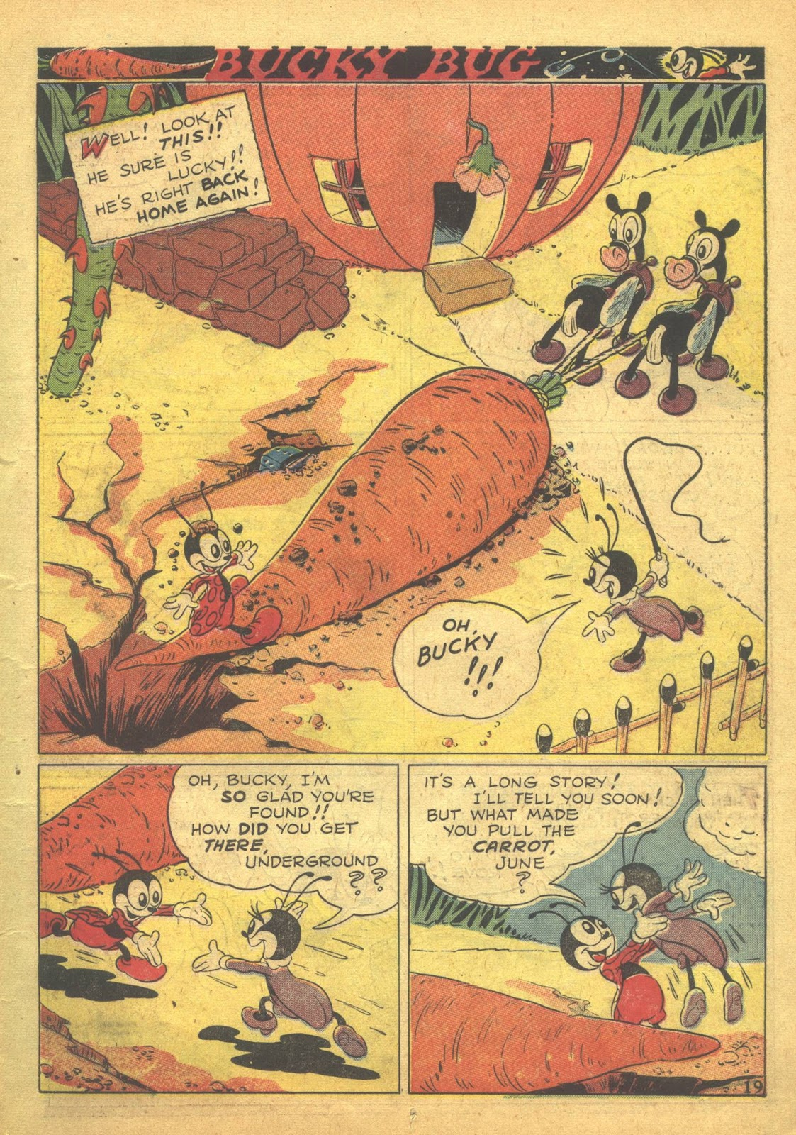 Walt Disney's Comics and Stories issue 41 - Page 21