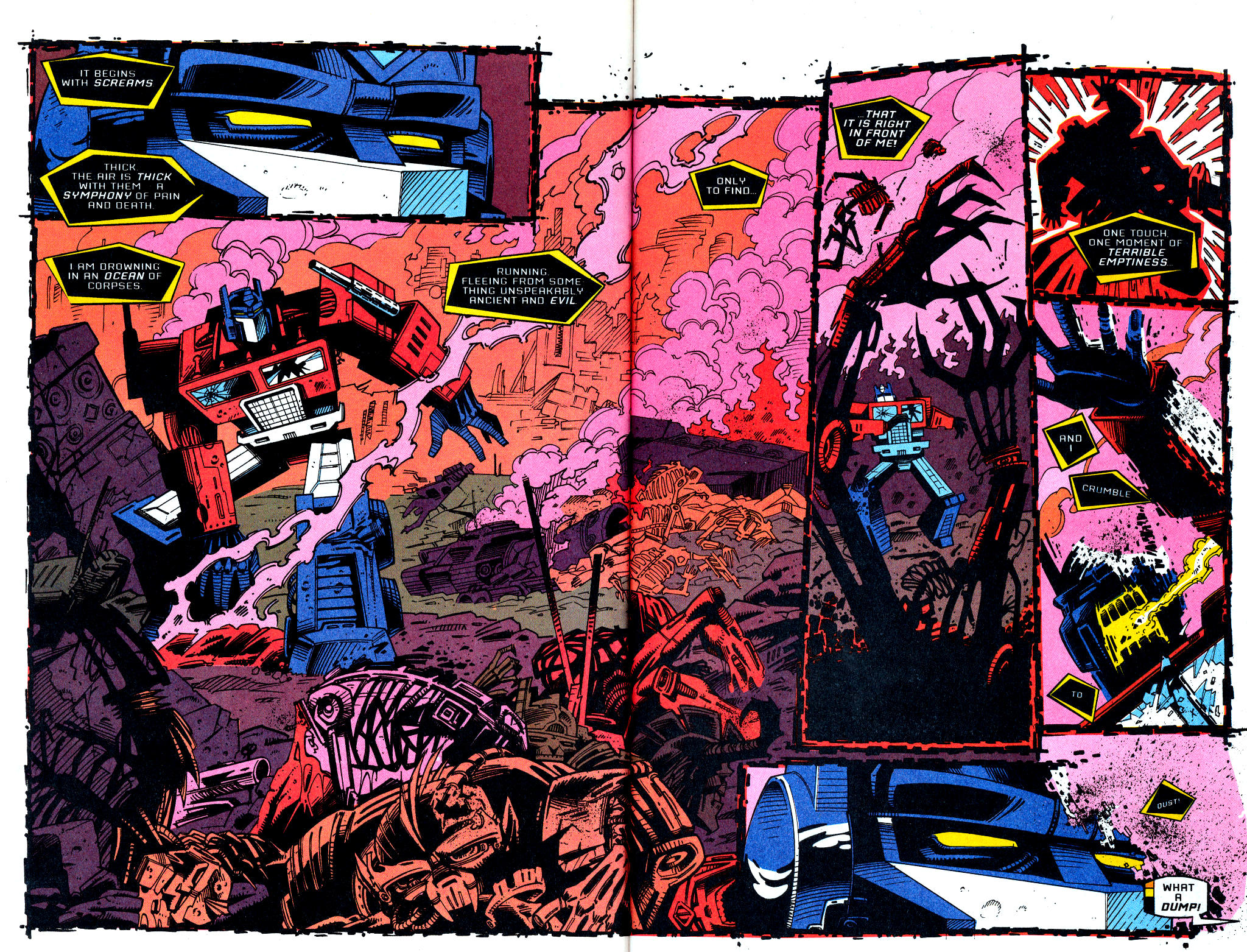 Read online Transformers: Generation 2 comic -  Issue #1 - 14
