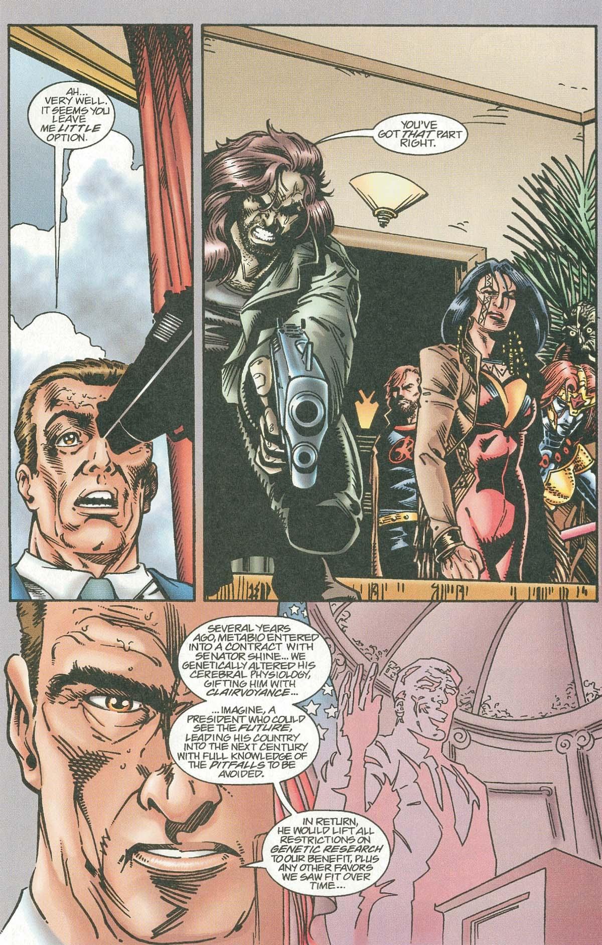 Read online UltraForce (1995) comic -  Issue #7 - 27