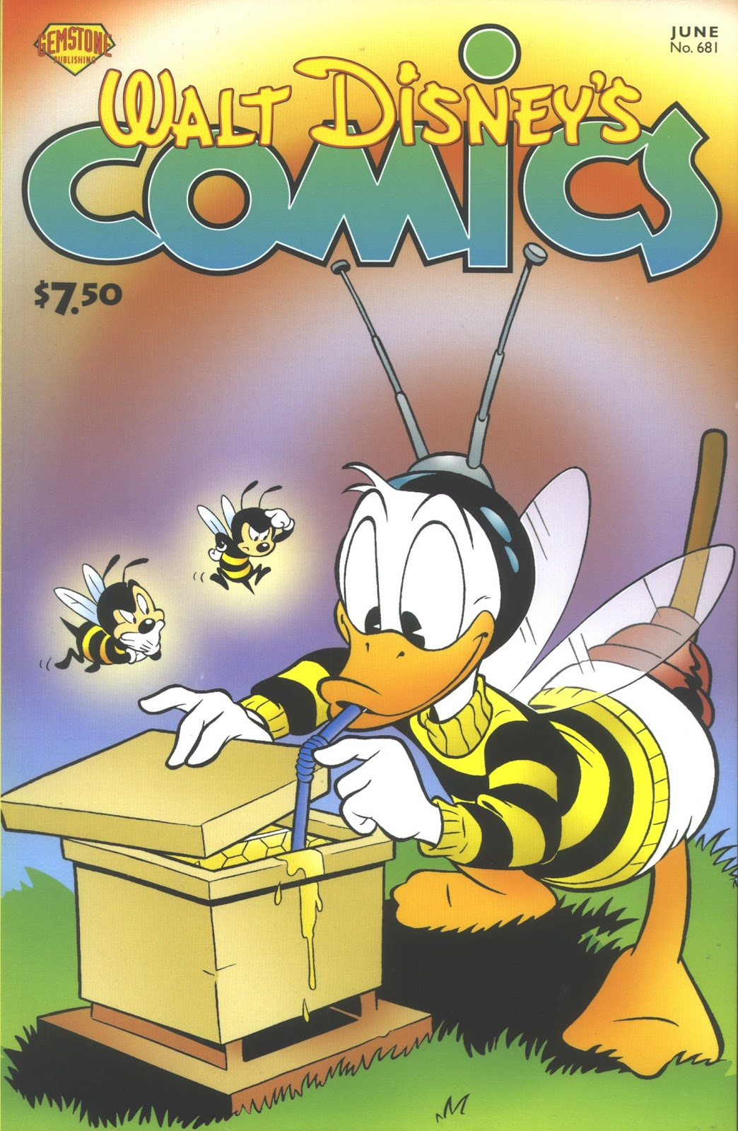 Walt Disney's Comics and Stories issue 681 - Page 1