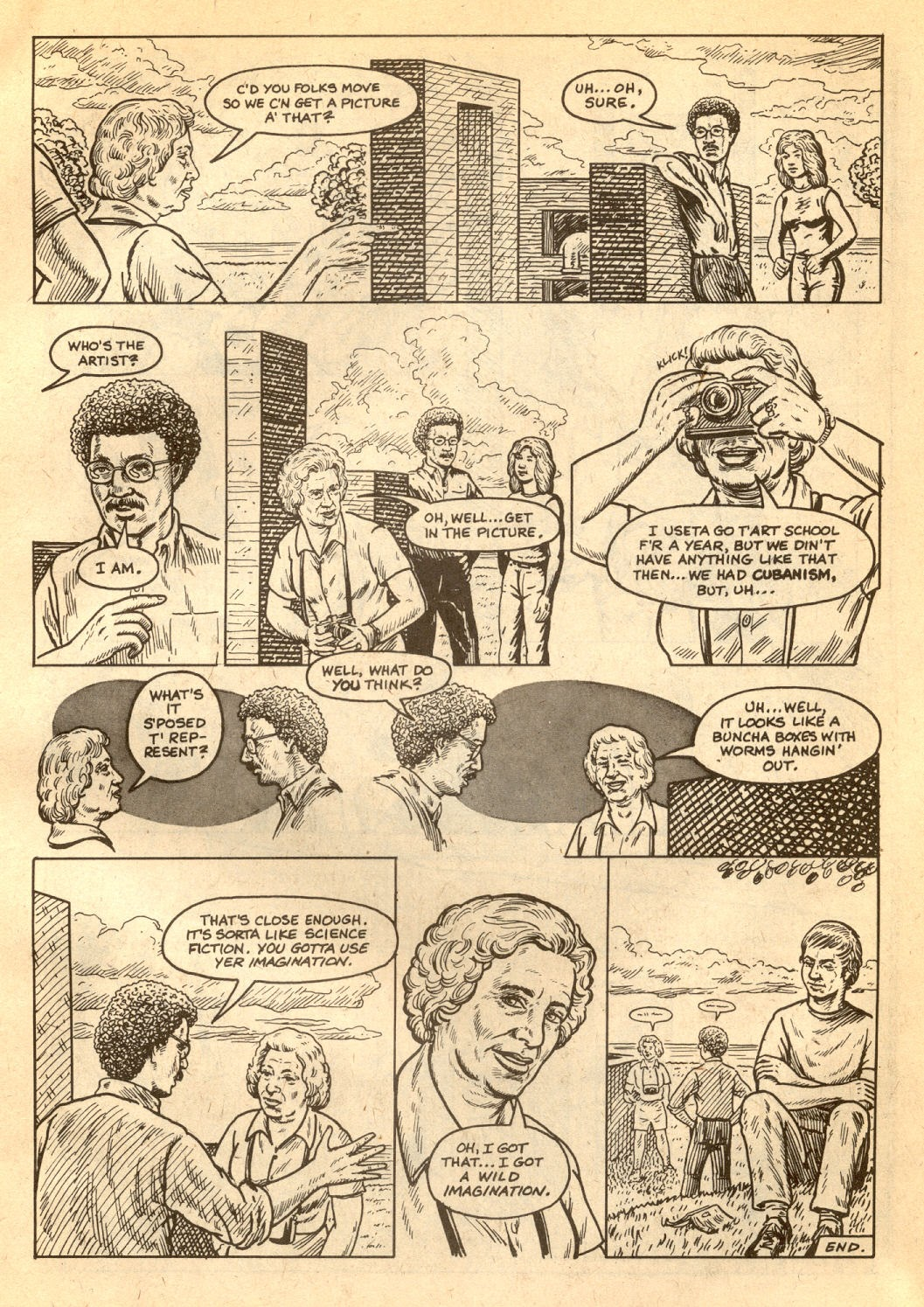American Splendor (1976) issue 7 - Page 53