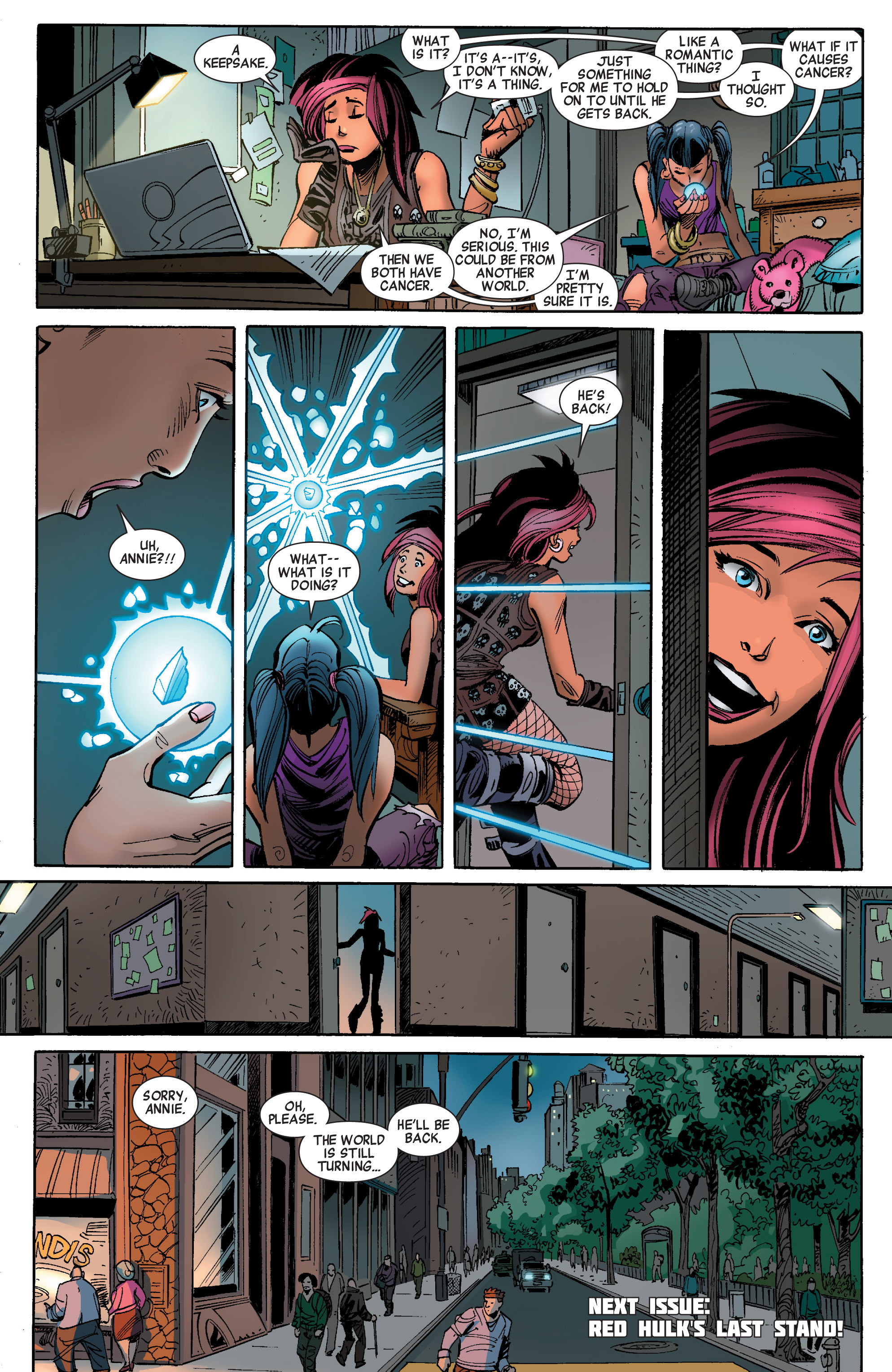 Read online Avengers (2010) comic -  Issue #27 - 22
