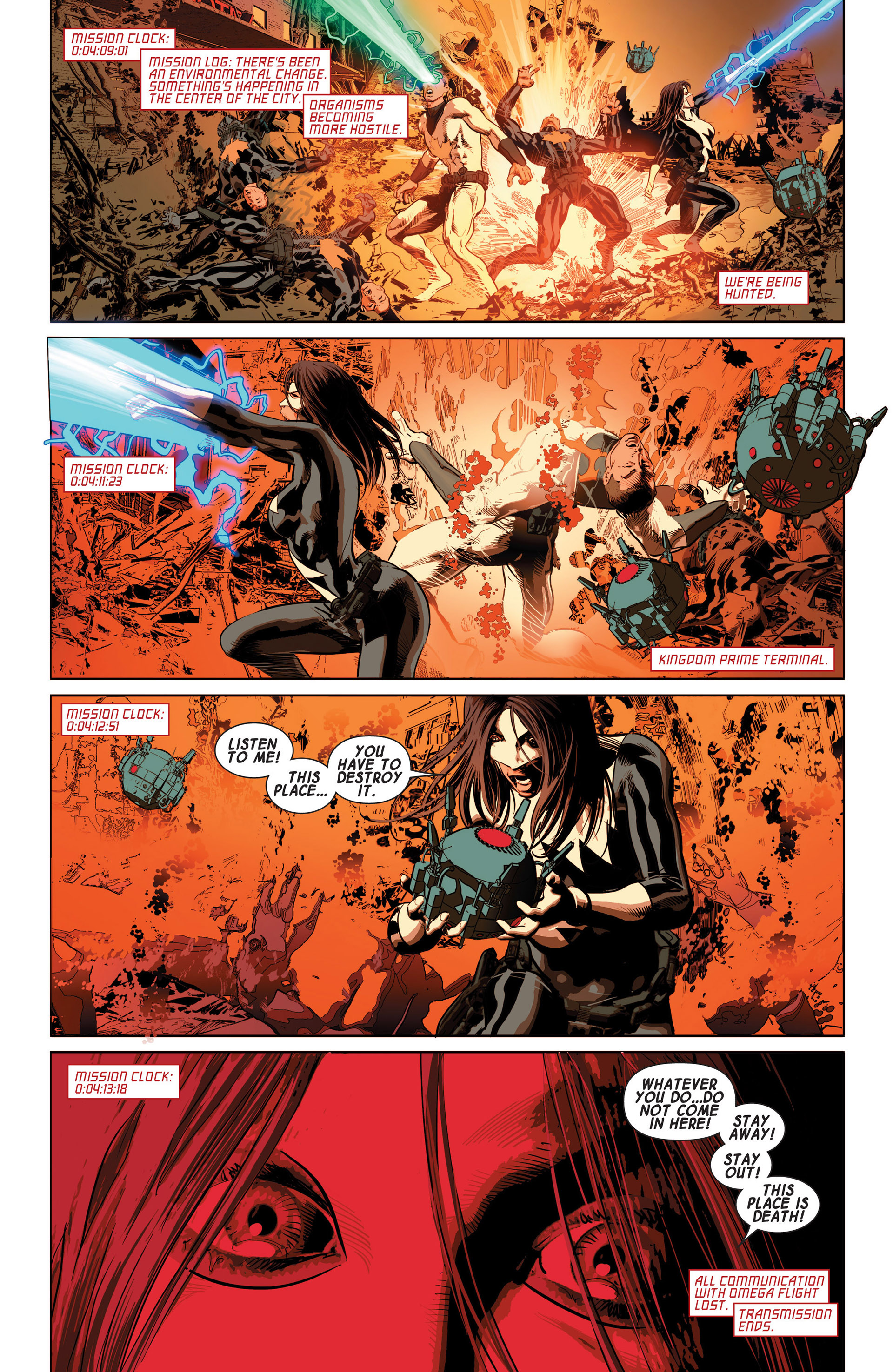 Read online Avengers (2013) comic -  Issue #10 - 11