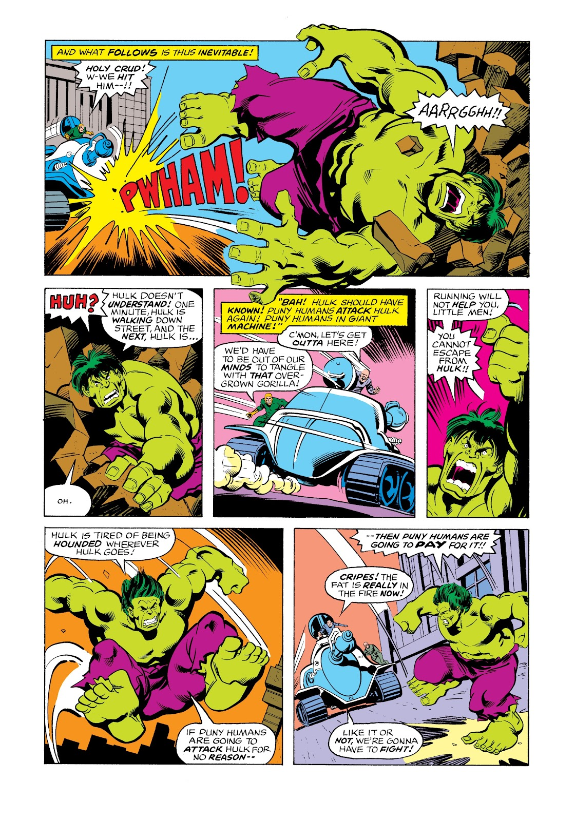 Read online Marvel Masterworks: The Incredible Hulk comic -  Issue # TPB 12 (Part 3) - 50