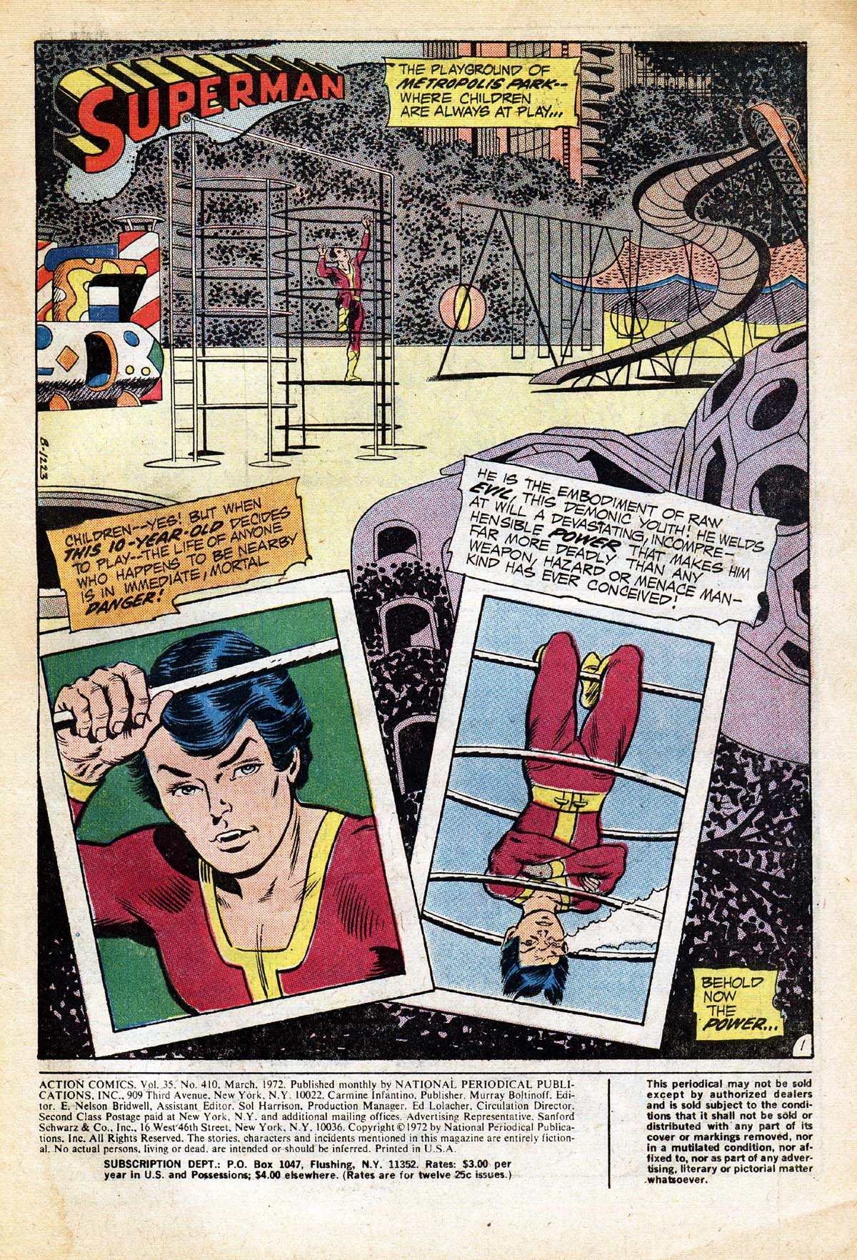 Read online Action Comics (1938) comic -  Issue #410 - 3