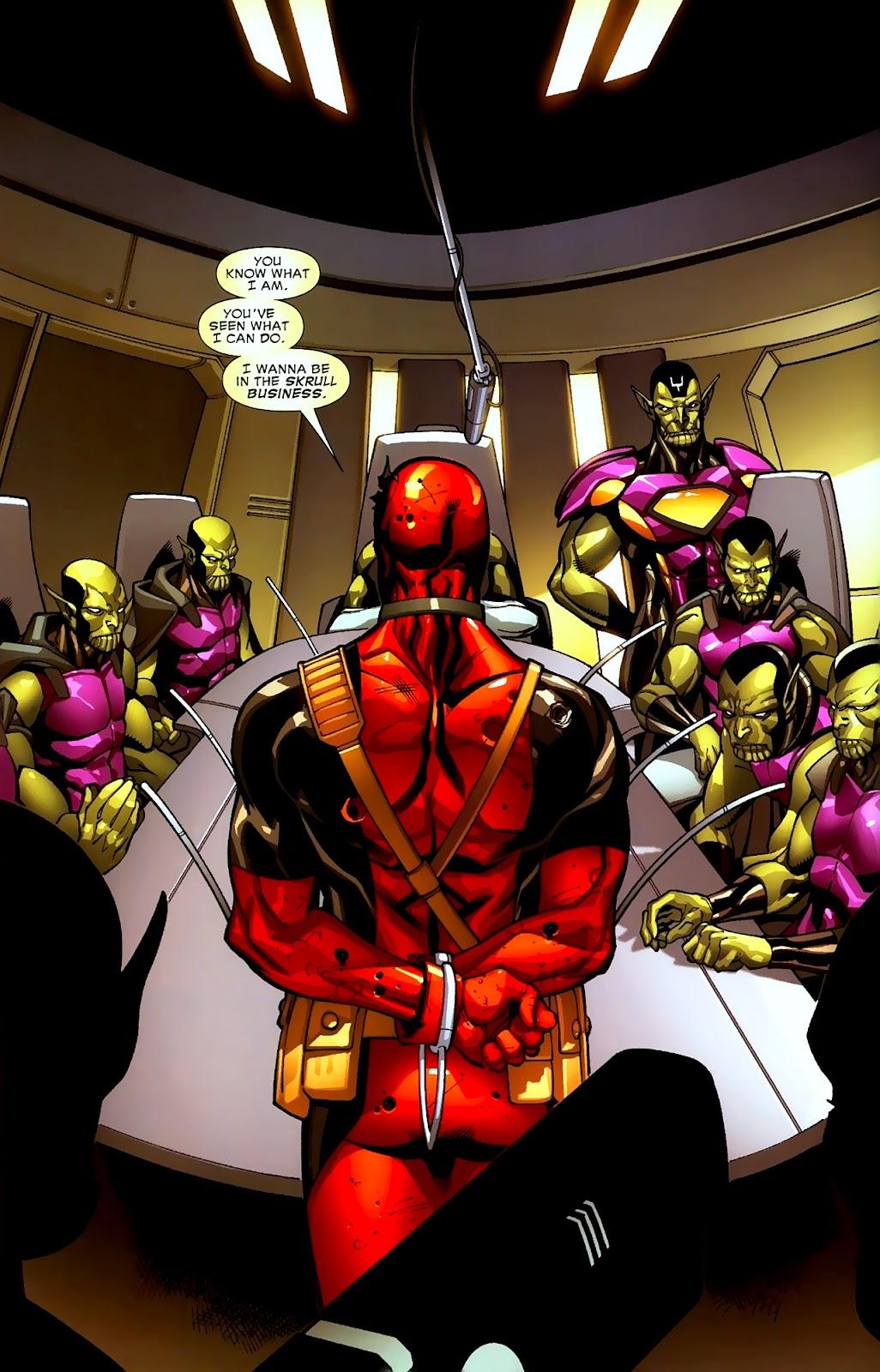 Read online Deadpool (2008) comic -  Issue #2 - 6