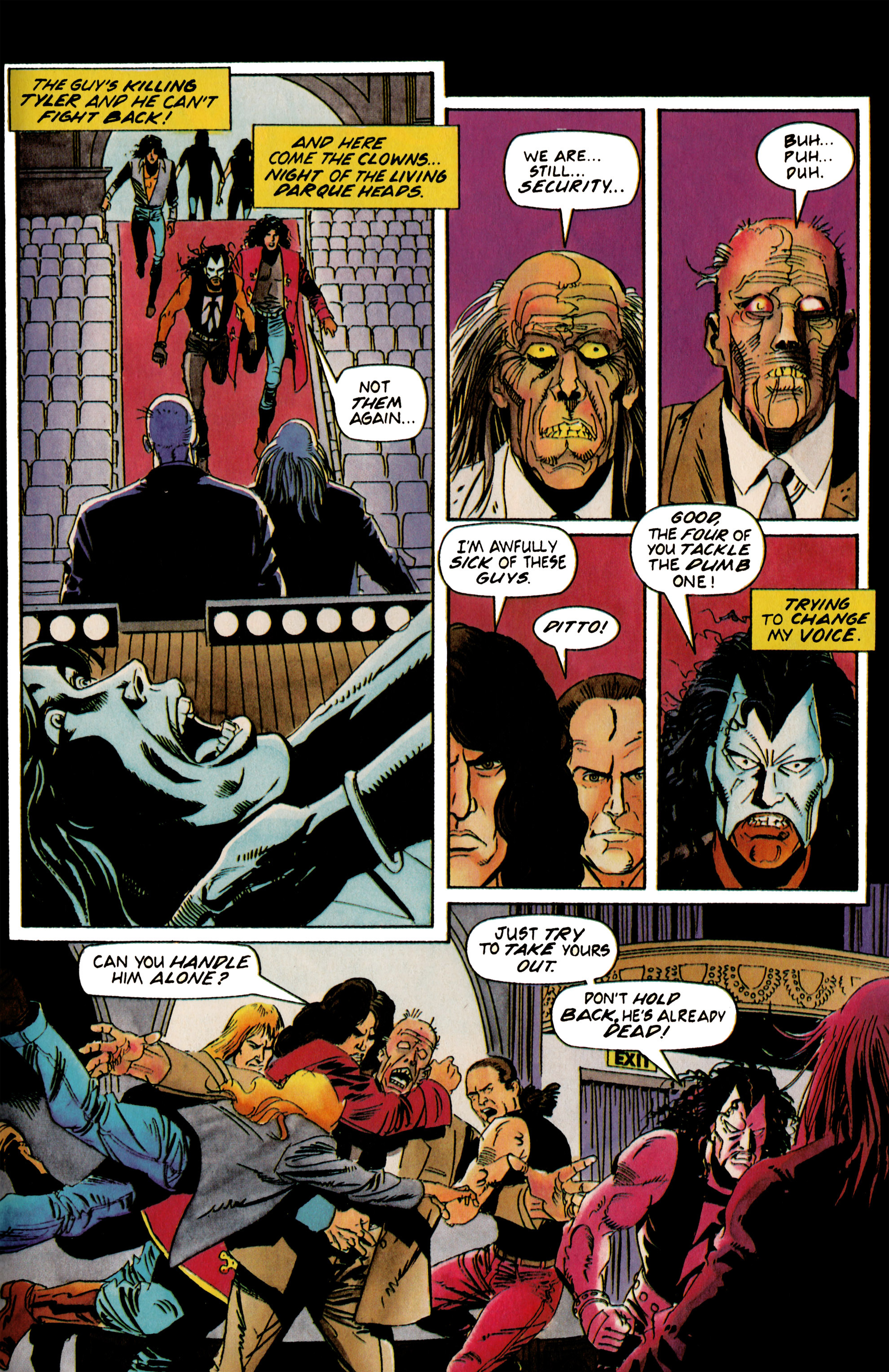 Read online Shadowman (1992) comic -  Issue #19 - 19