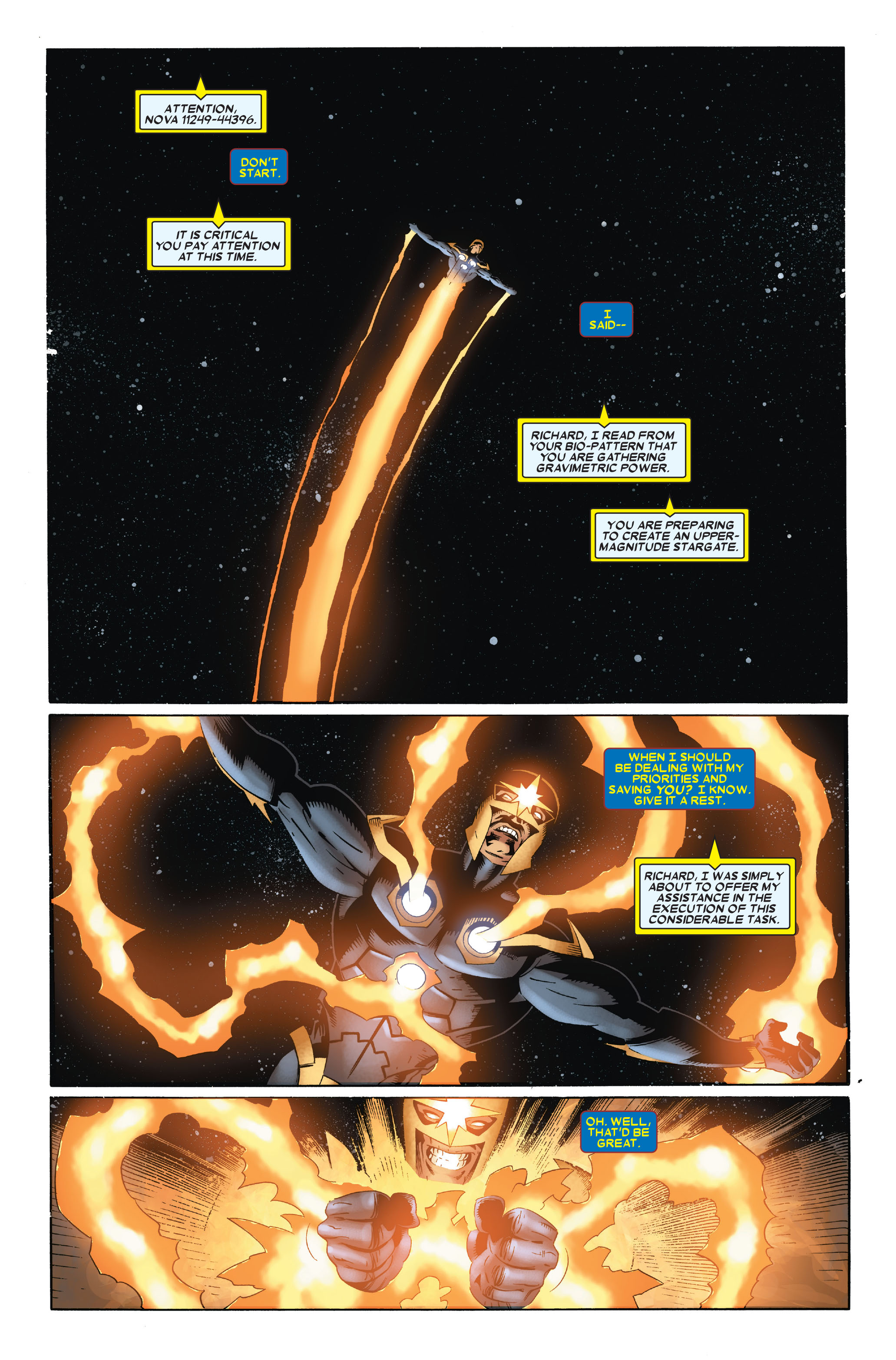 Read online Annihilation: Nova comic -  Issue #3 - 17