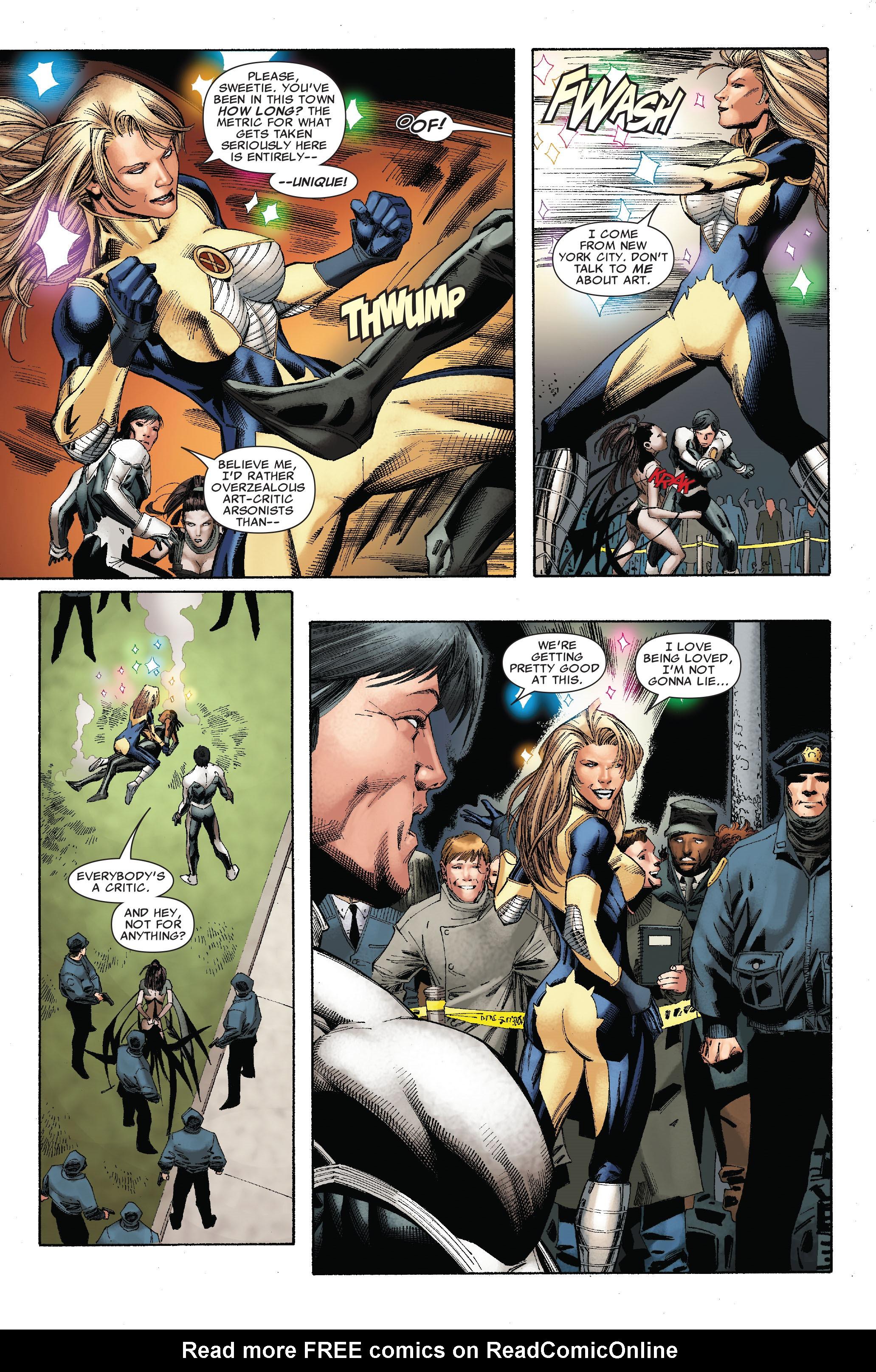 Read online Uncanny X-Men (1963) comic -  Issue #528 - 17