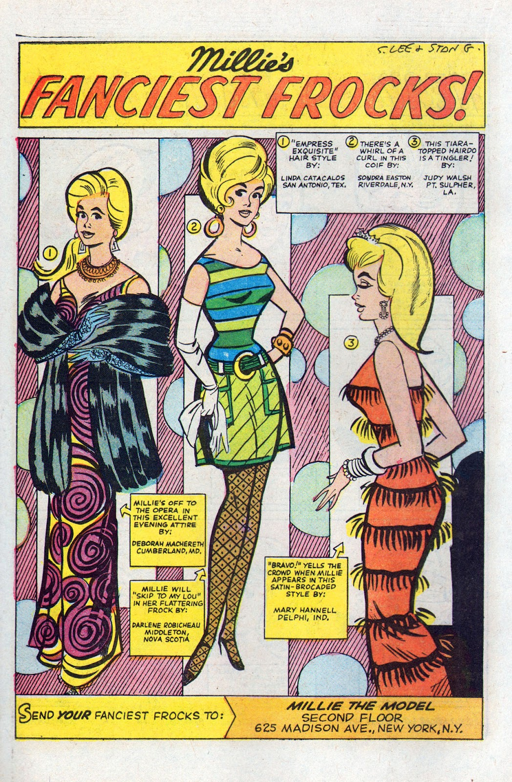 Read online Millie the Model comic -  Issue # Annual 6 - 18