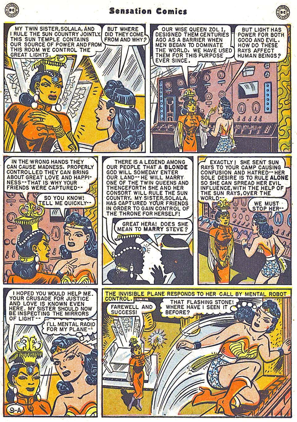 Read online Sensation (Mystery) Comics comic -  Issue #79 - 11