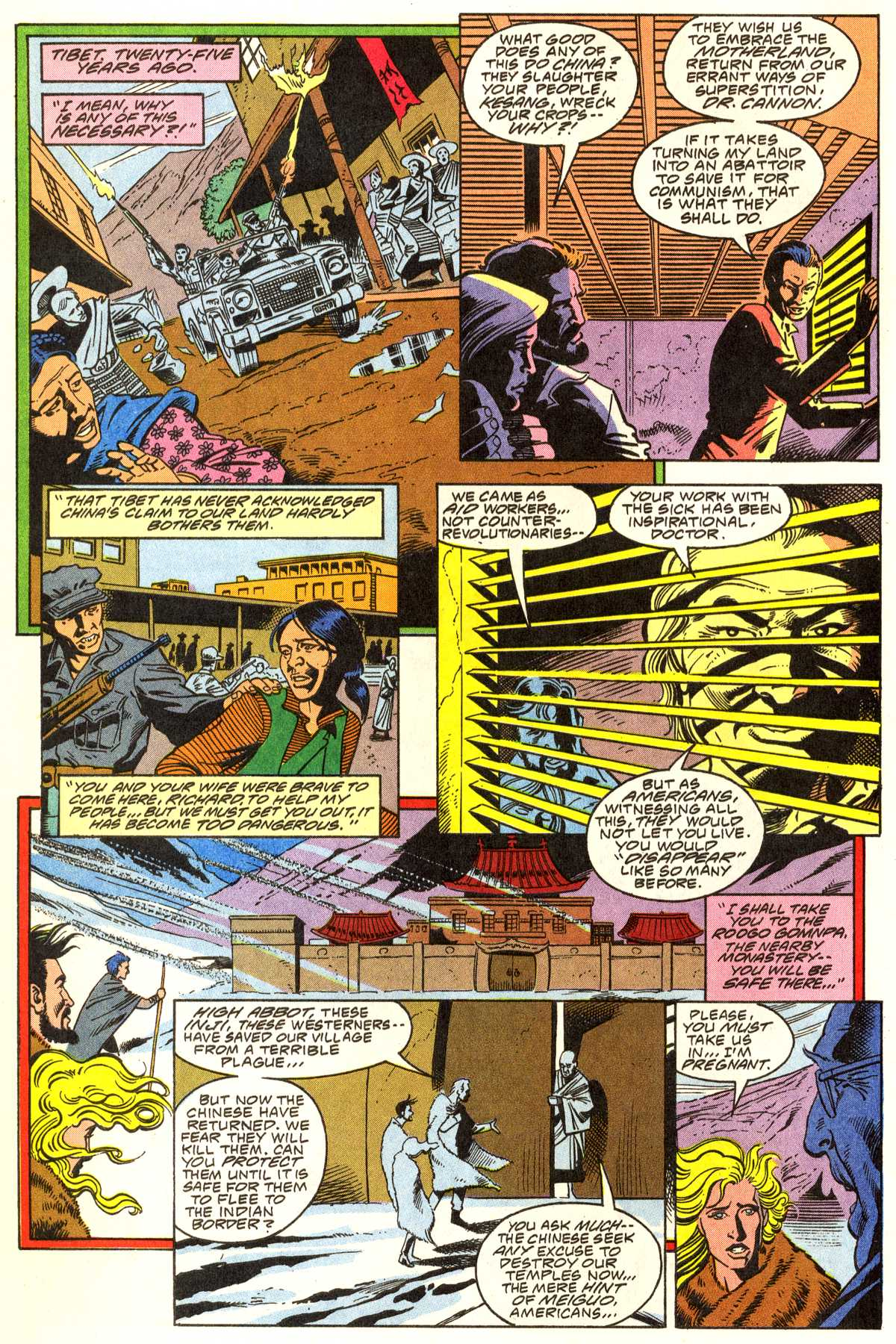 Read online Peter Cannon--Thunderbolt (1992) comic -  Issue #1 - 7