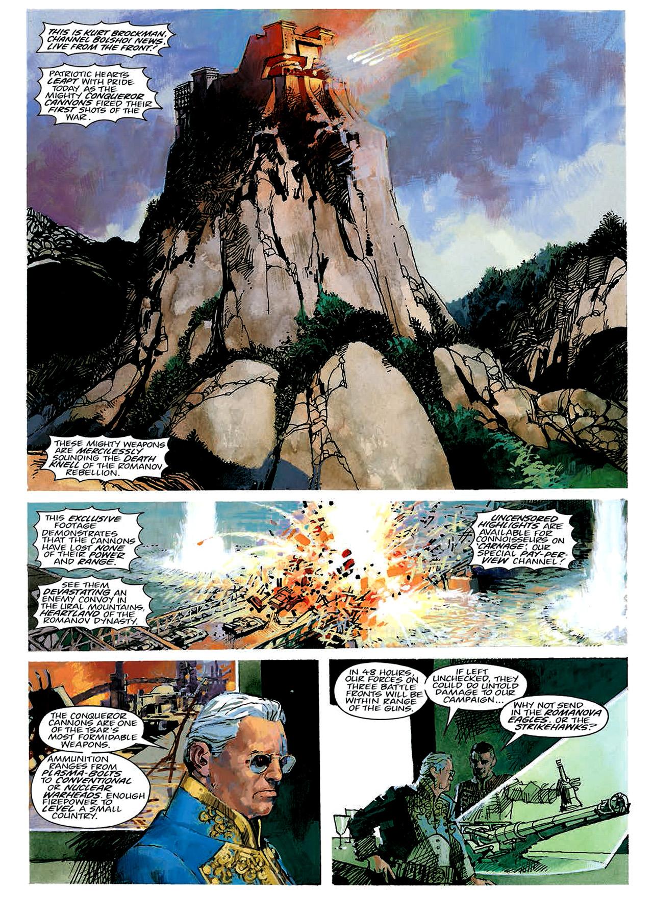 Read online Nikolai Dante comic -  Issue # TPB 4 - 23