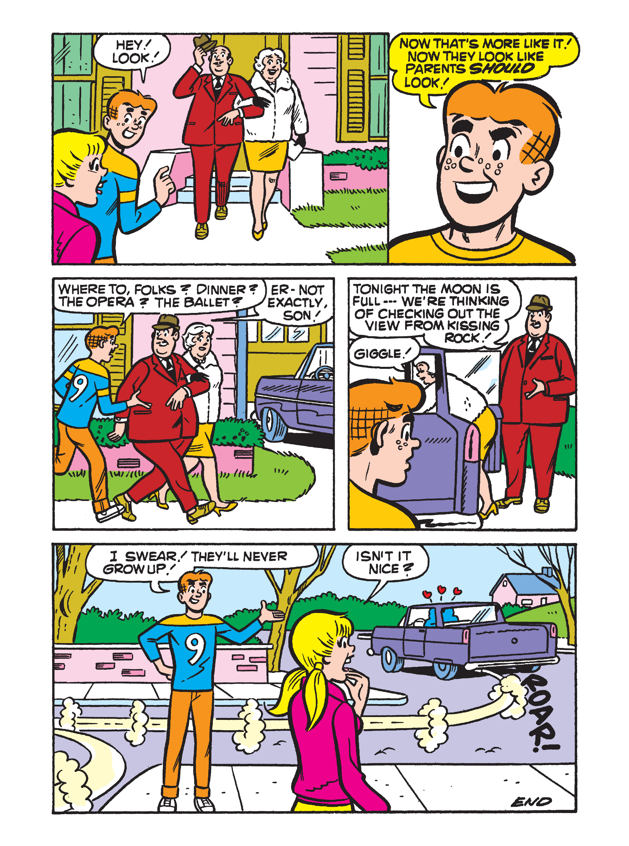 Read online Archie 75th Anniversary Digest comic -  Issue #5 - 137