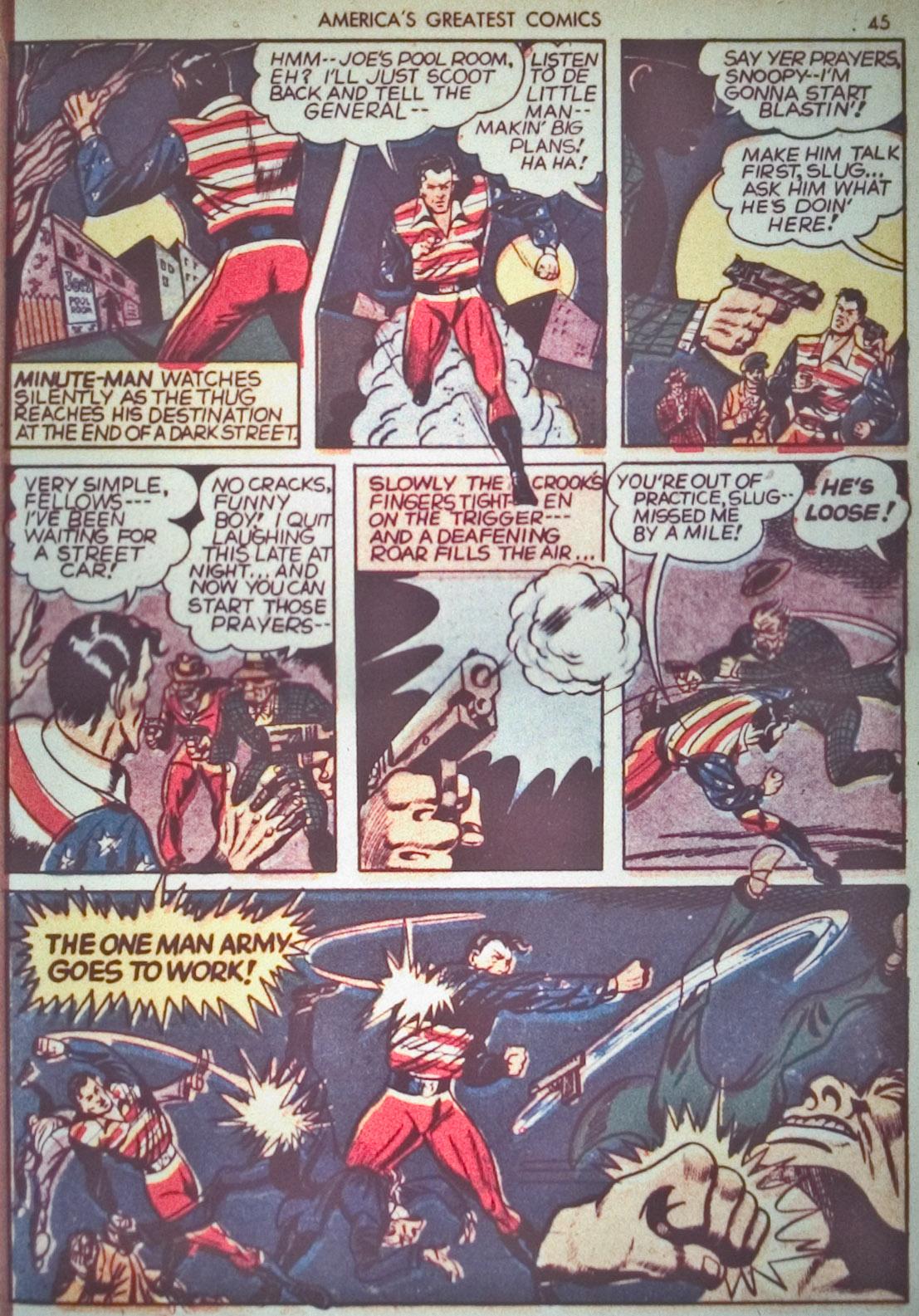 Read online America's Greatest Comics comic -  Issue #1 - 48