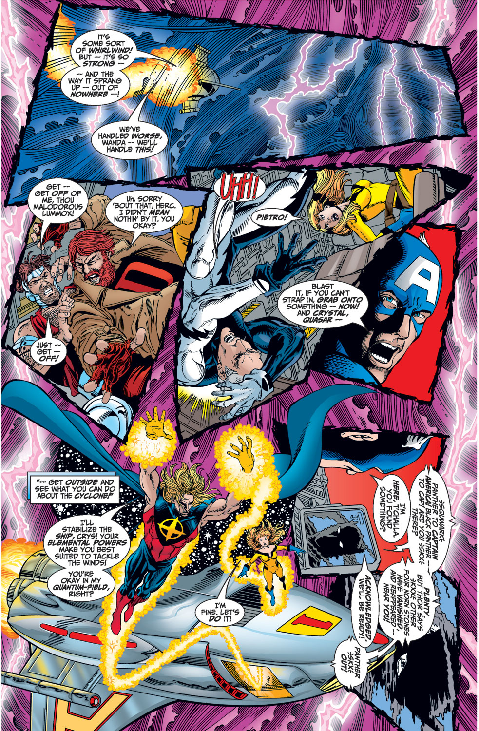 Read online Avengers (1998) comic -  Issue #1 - 28