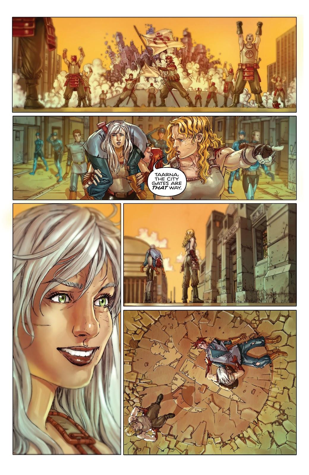 Read online Taarna comic -  Issue #4 - 23