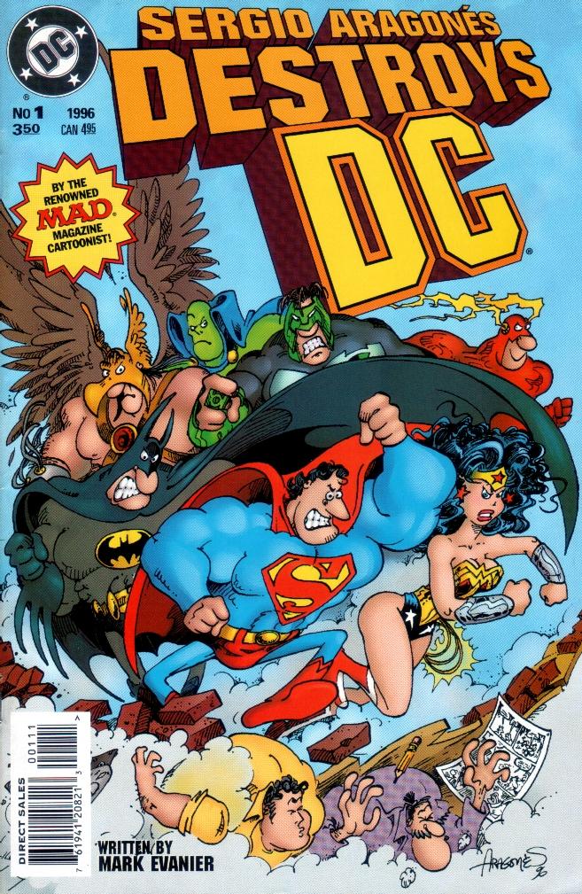 Read online Sergio Aragones Destroys DC comic -  Issue # Full - 1