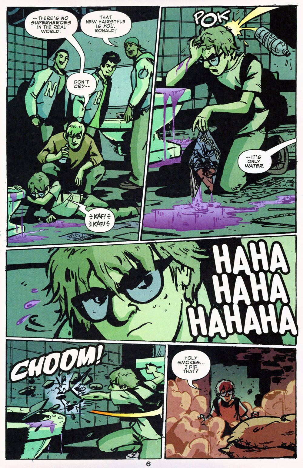 Read online Bad Girls comic -  Issue #1 - 7