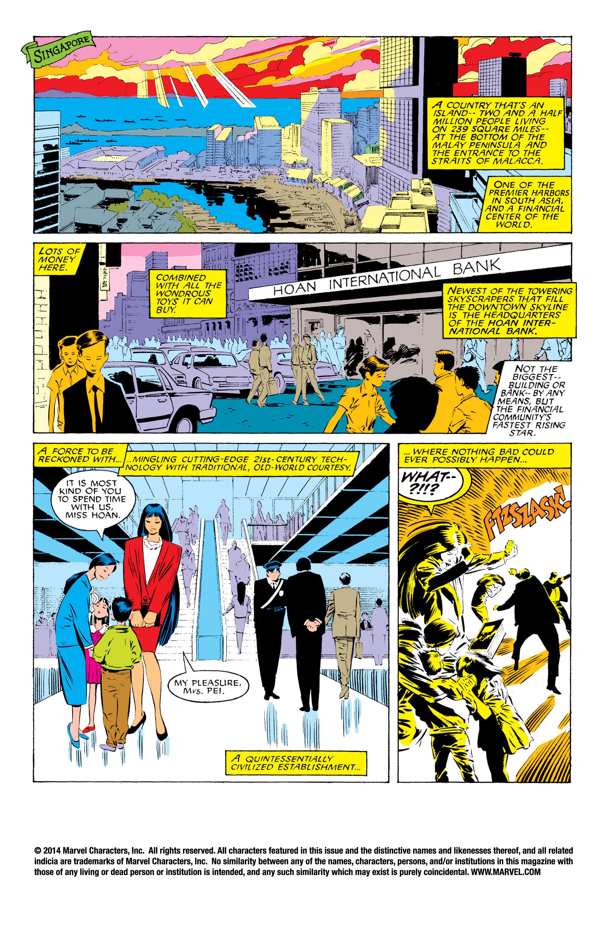 Read online Uncanny X-Men (1963) comic -  Issue #229 - 2
