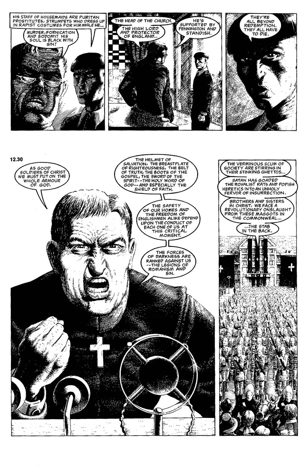 Read online The Adventures of Luther Arkwright comic -  Issue #5 - 17