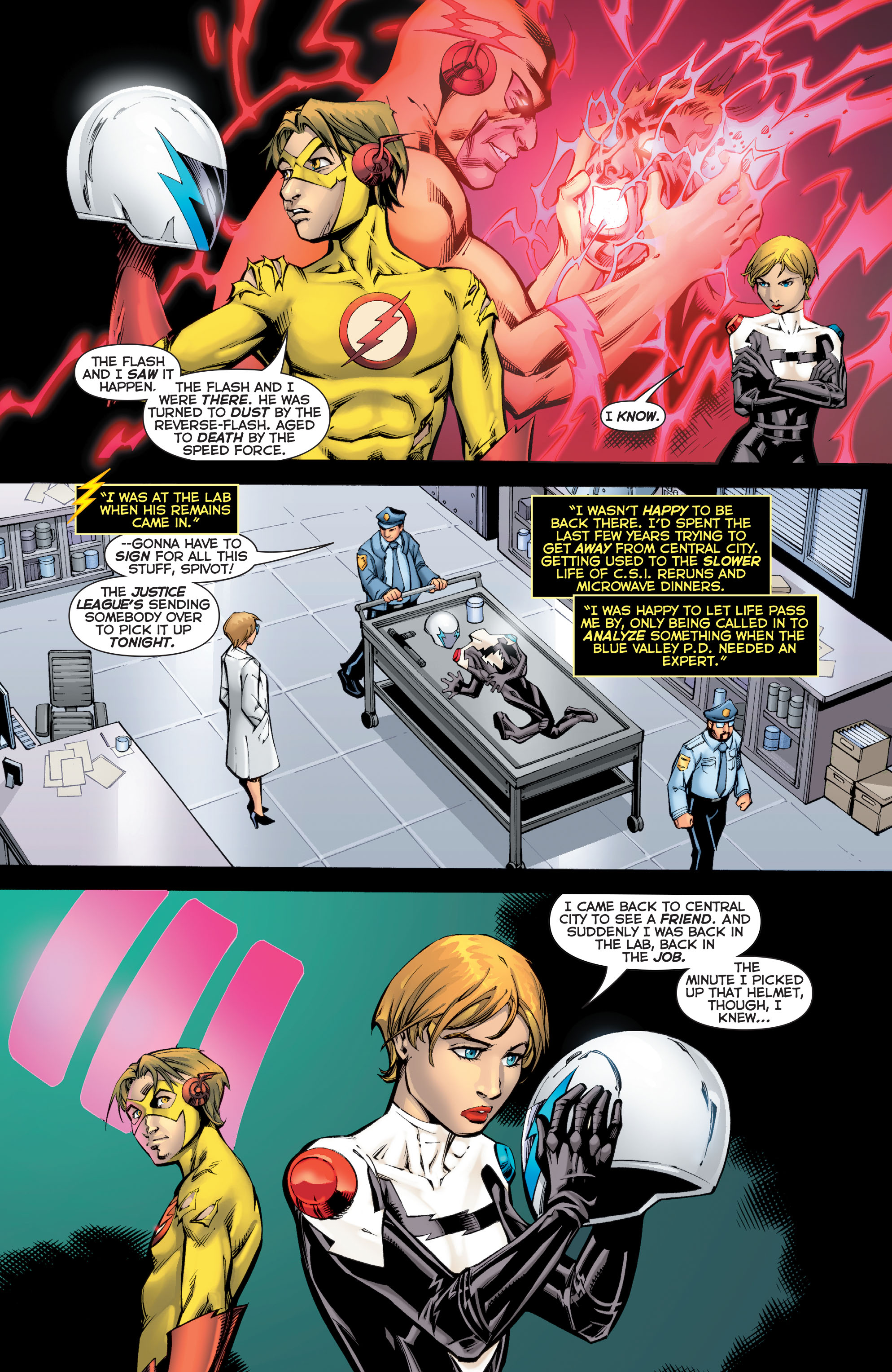 Read online Flashpoint: Kid Flash Lost comic -  Issue #2 - 3