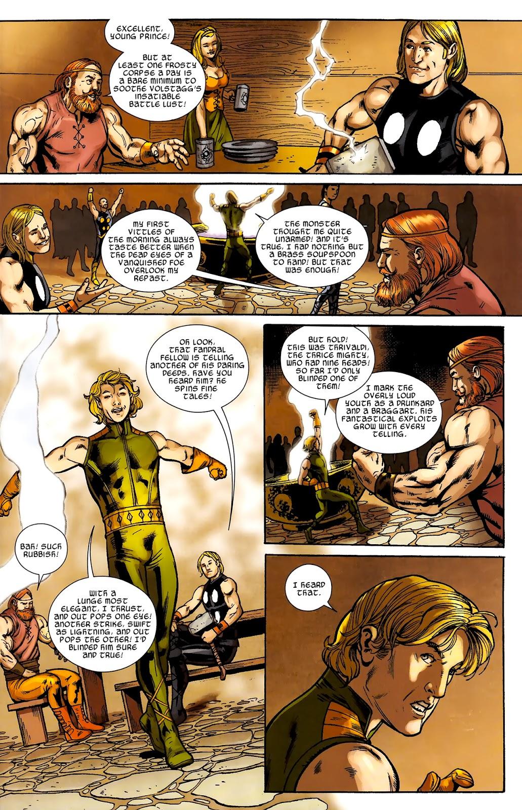 Warriors Three Issue #2 #2 - English 9