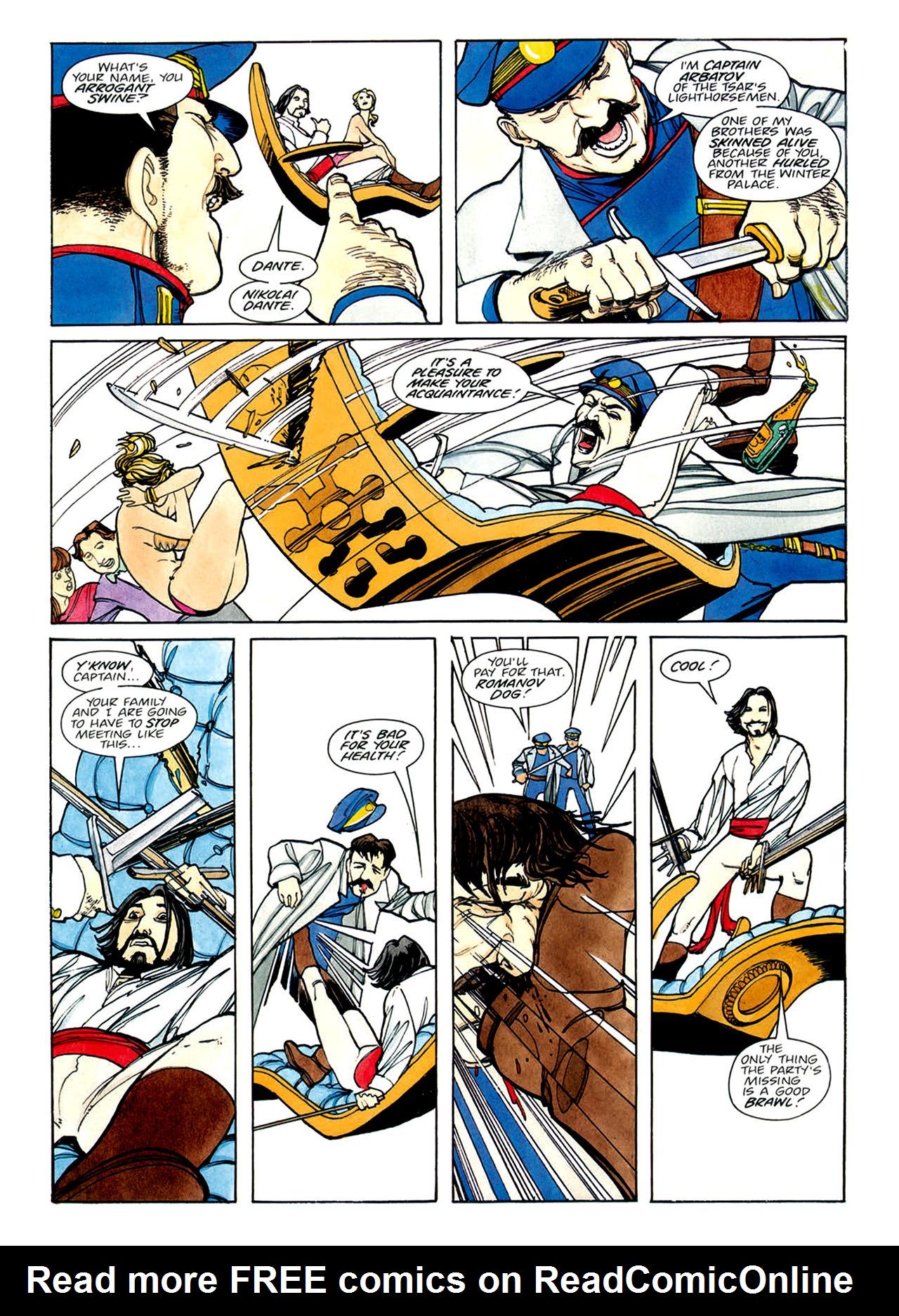 Read online Nikolai Dante comic -  Issue # TPB 1 - 103