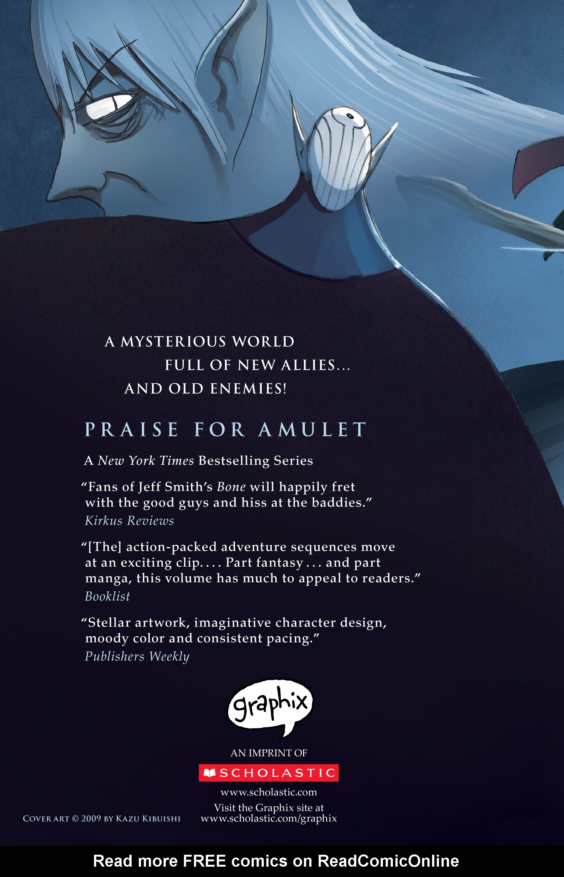 Read online Amulet comic -  Issue #2 - 218