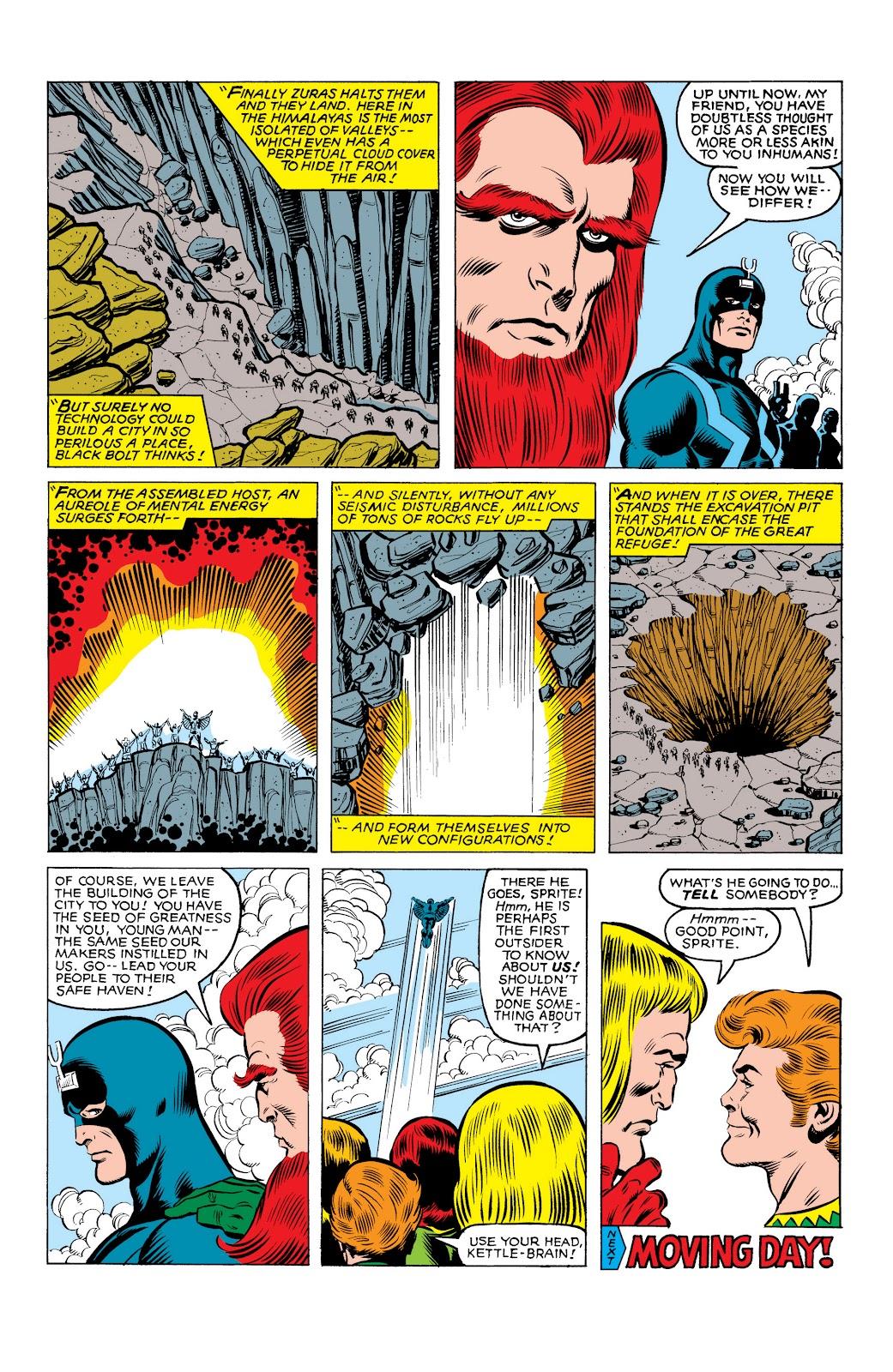 Read online Marvel Masterworks: The Inhumans comic -  Issue # TPB 2 (Part 3) - 89